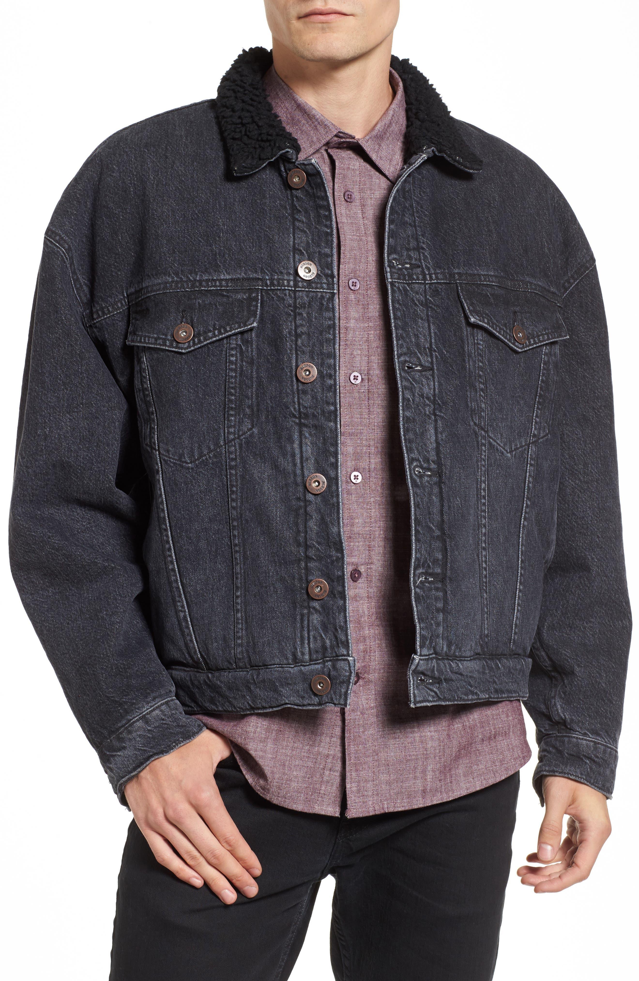 Alternate Image 1 Selected - Hudson Denim Trucker Jacket