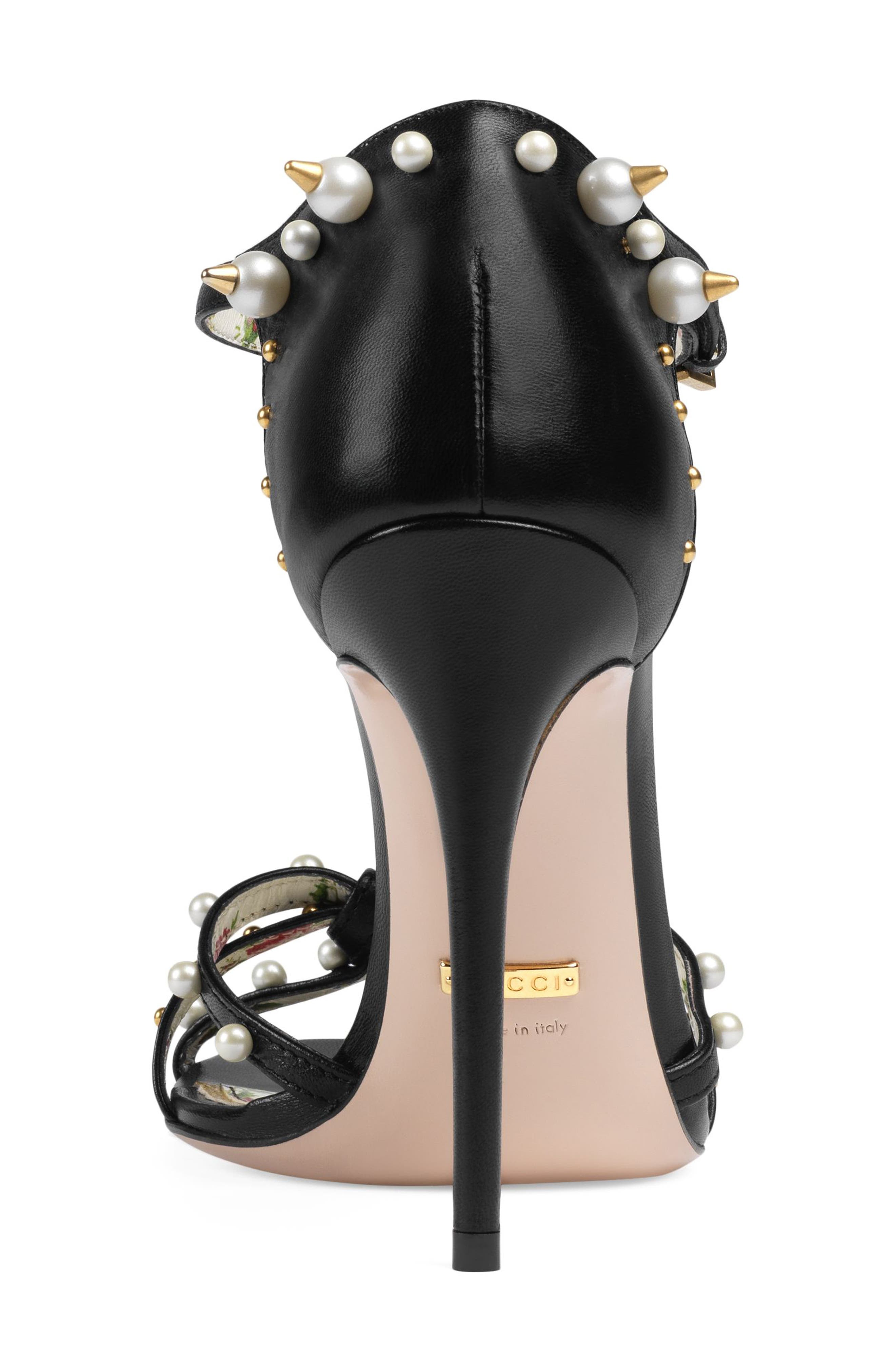 Alternate Image 4  - Gucci Regina Embellished T-Strap Sandal (Women)