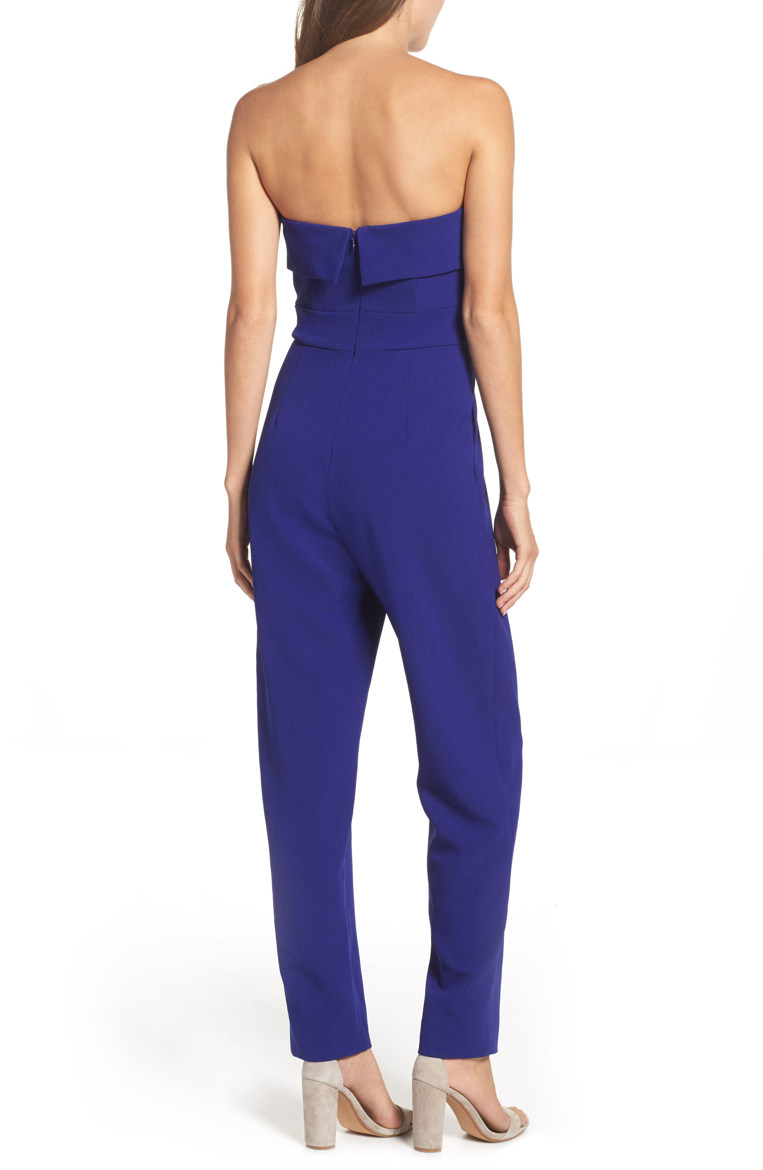 Alternate Image 3  - Vince Camuto Strapless Jumpsuit (Regular & Petite)