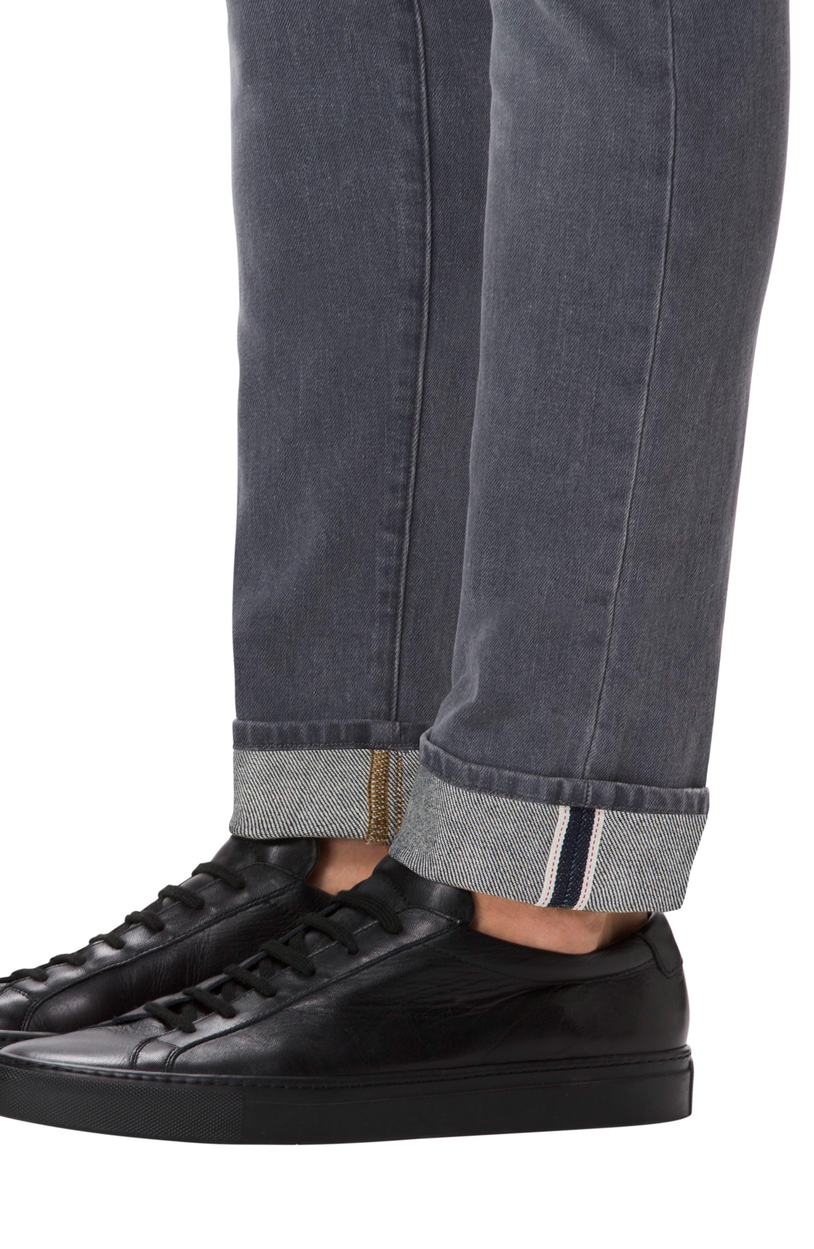 Alternate Image 4  - J Brand Tyler Slim Fit Jeans (Grey Luna)