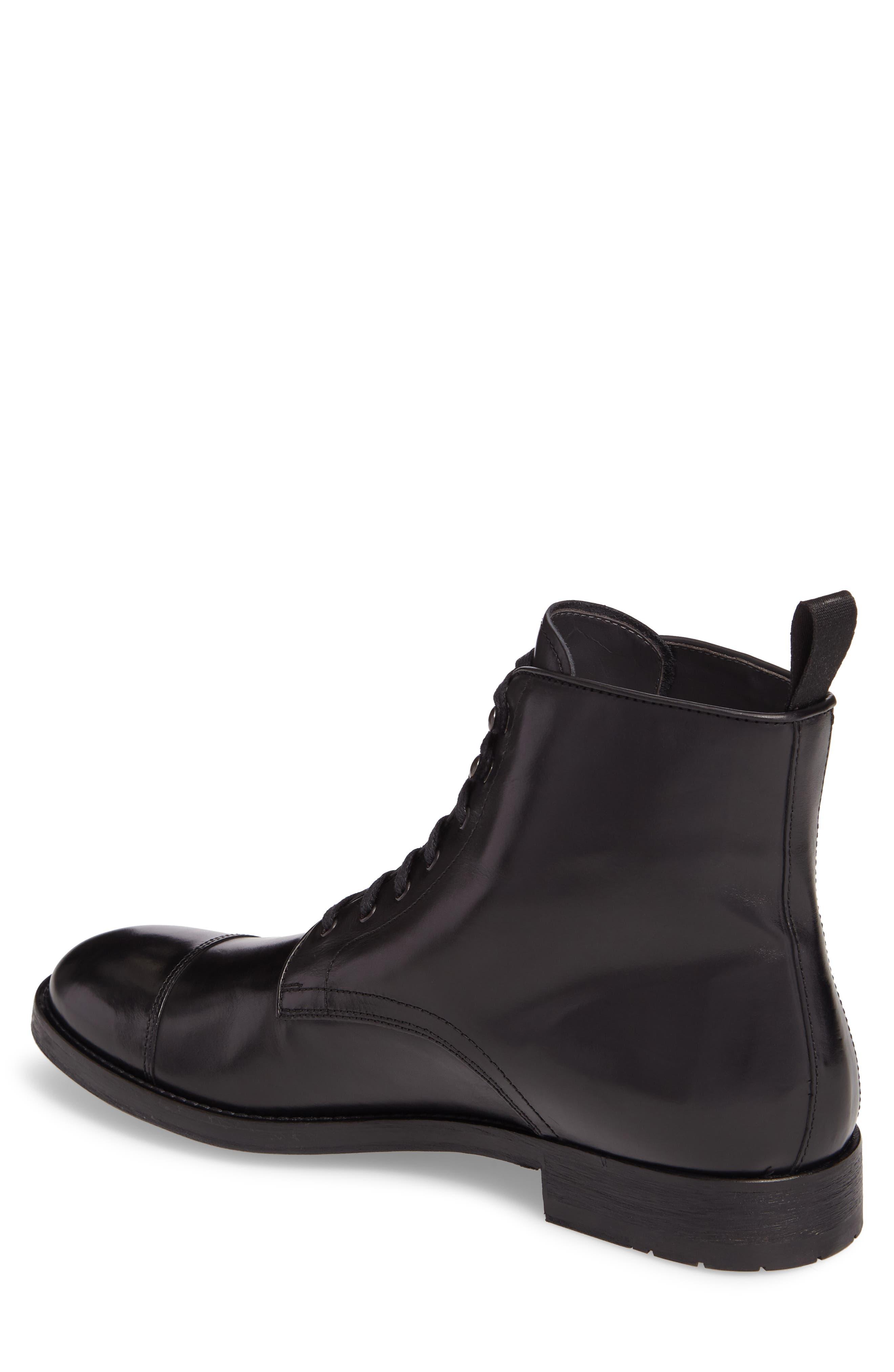 Bondfield Cap Toe Boot,                             Alternate thumbnail 2, color,                             Black