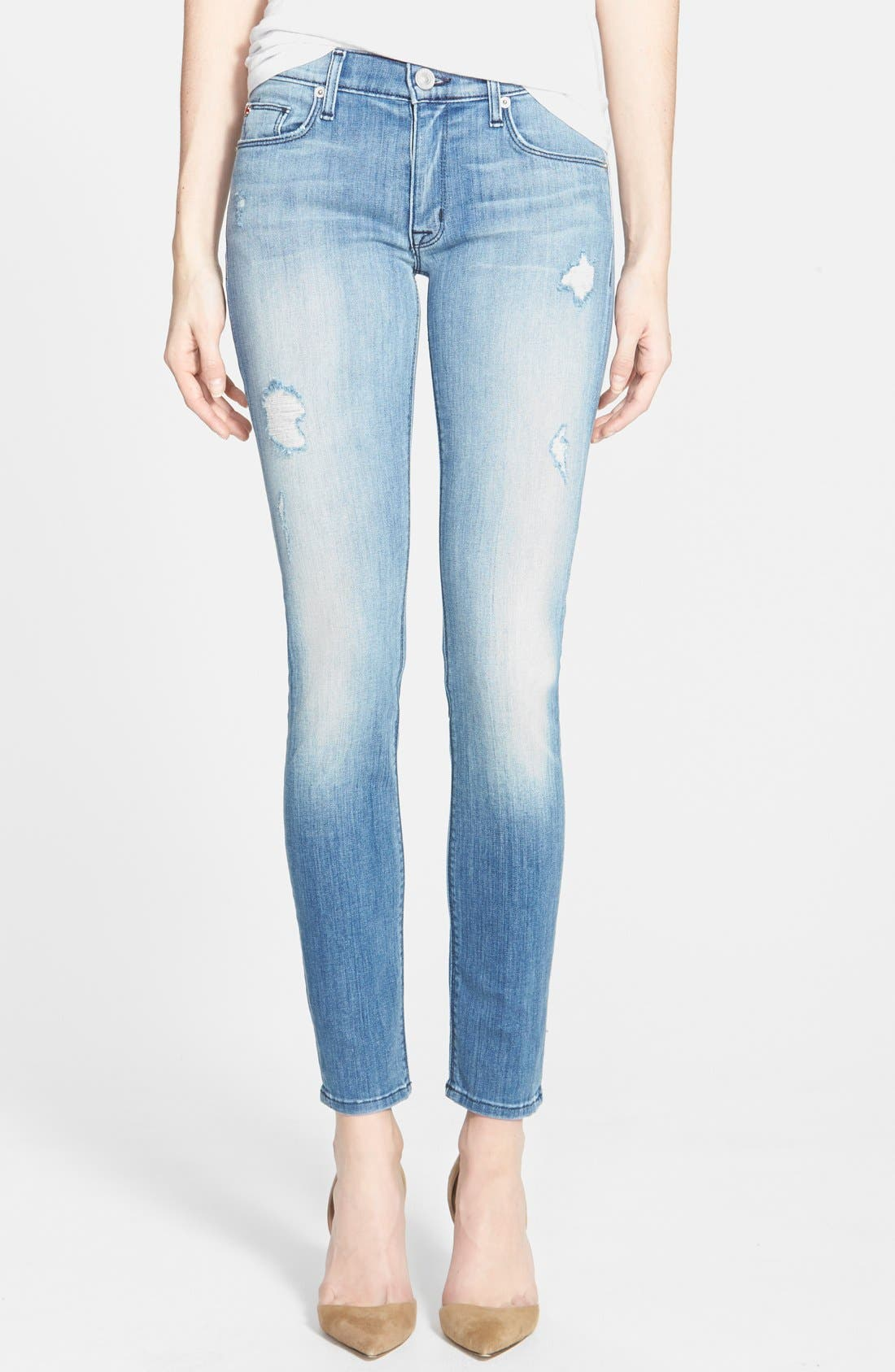 Alternate Image 1 Selected - Hudson Jeans 'Krista' Super Skinny Jeans (Seized)