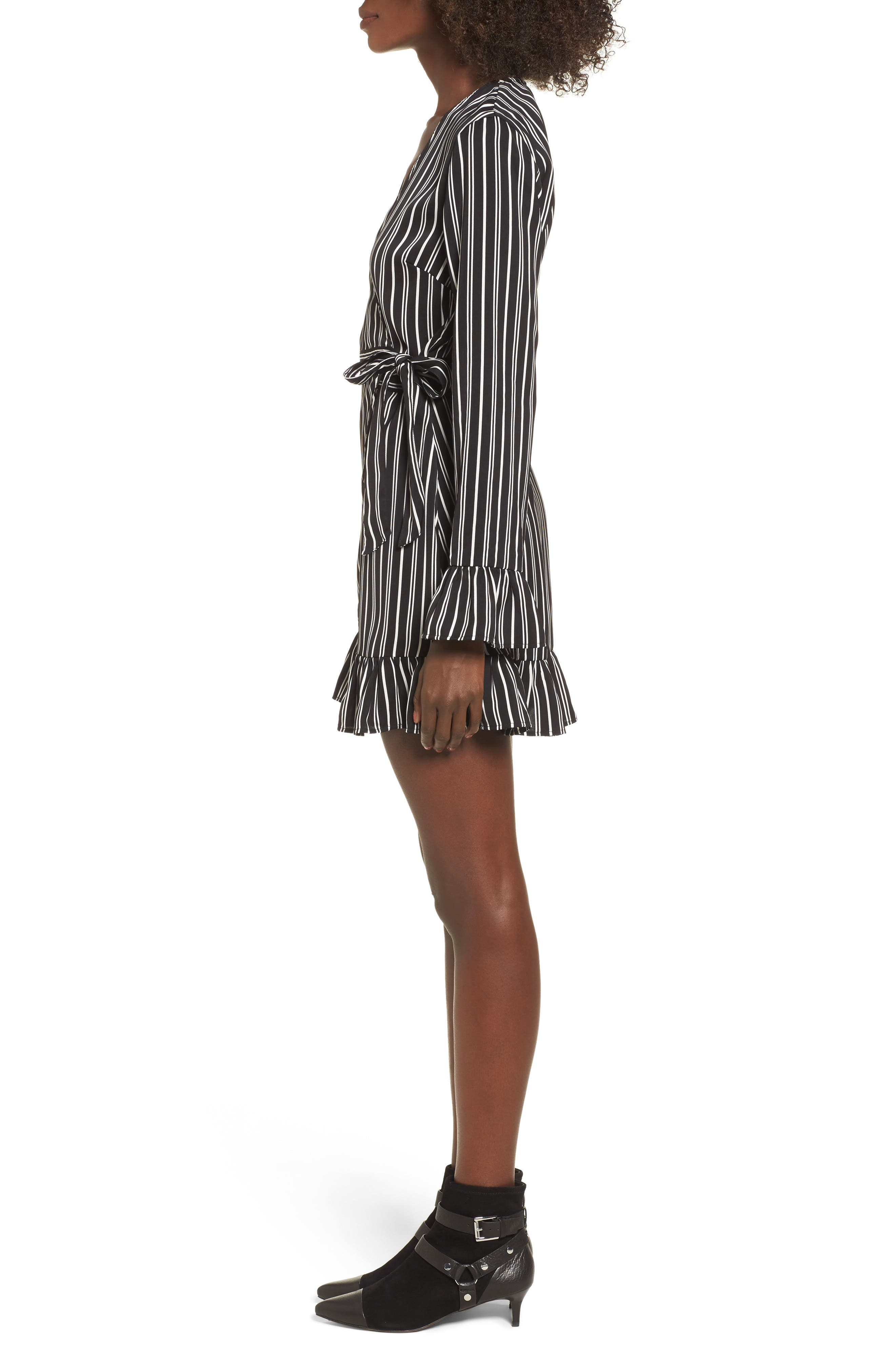 Alternate Image 3  - The Fifth Label Ophelia Stripe Wrap Dress