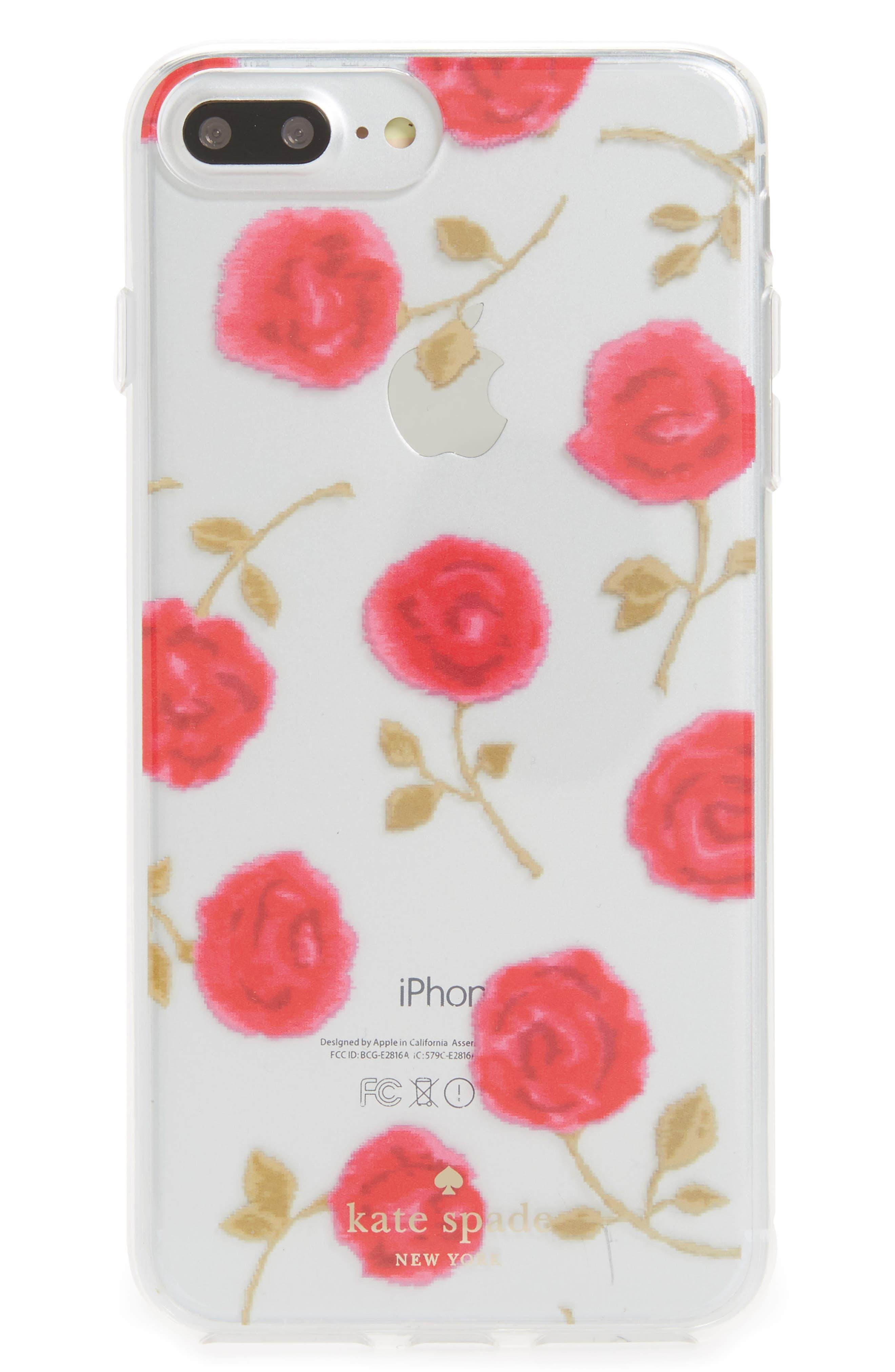 kate spade new york hazy rose iPhone 7/8 & 7/8 Plus case