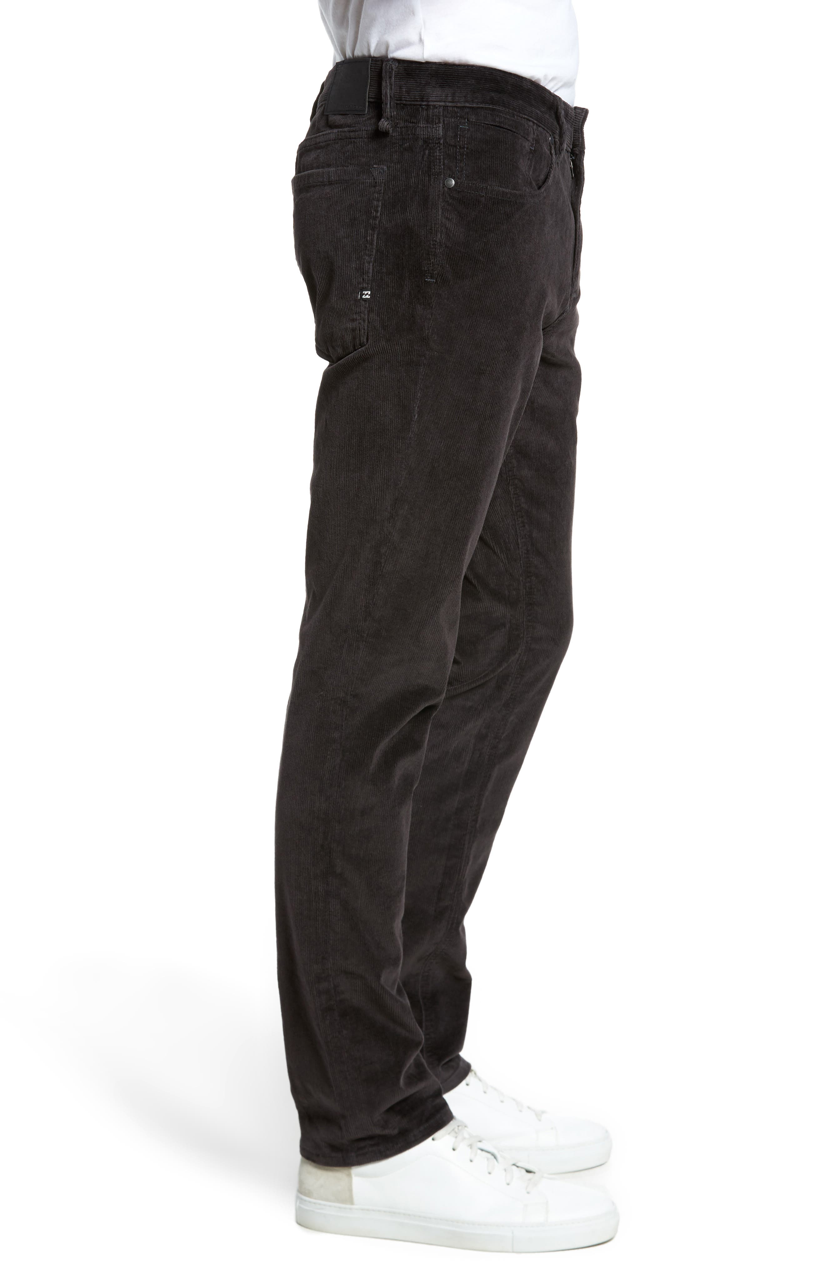 Outsider Corduroy Pants,                             Alternate thumbnail 3, color,                             Charcoal