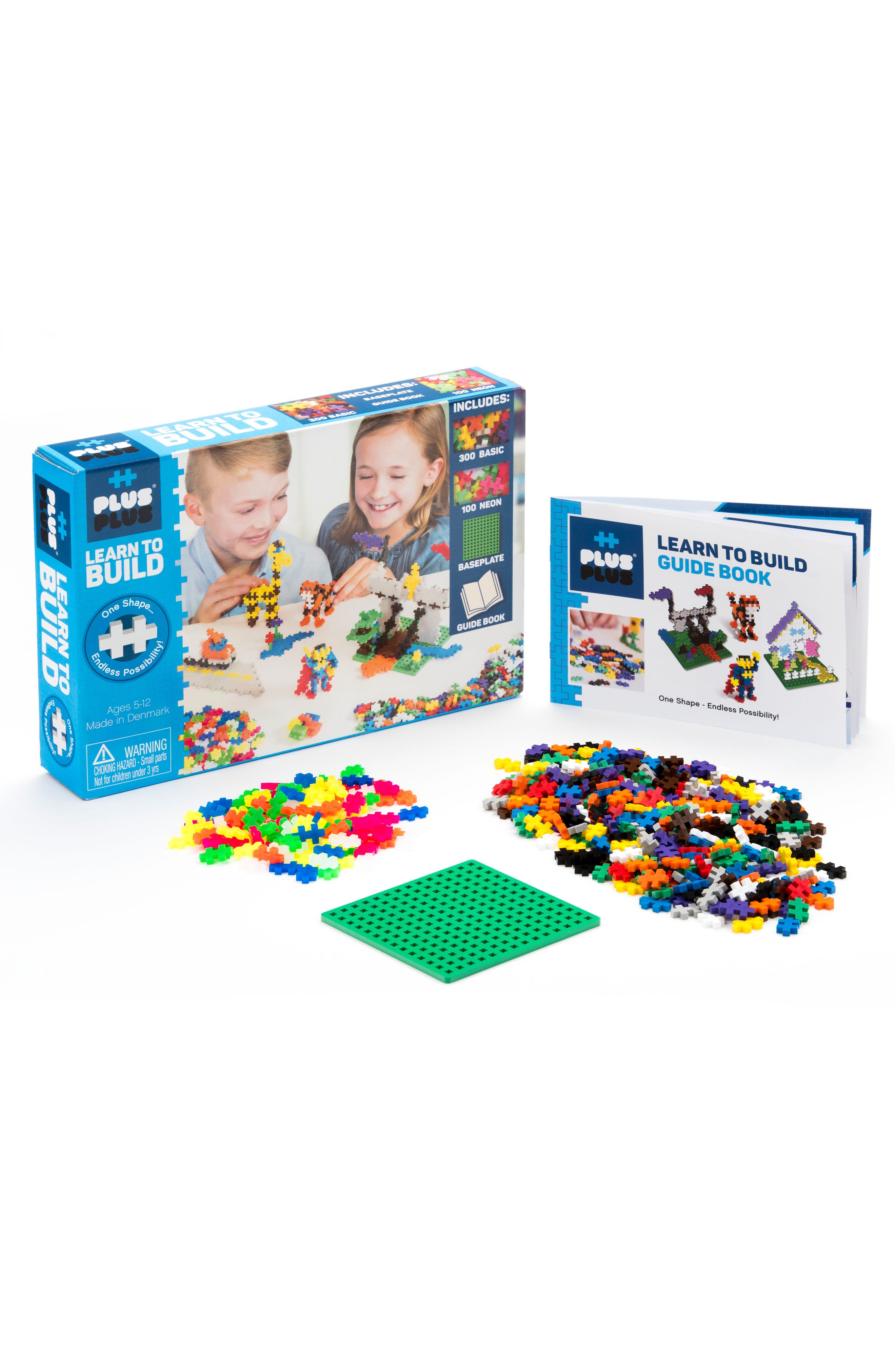 Plus-Plus USA Learn to Build - Basic 401-Piece Building Kit