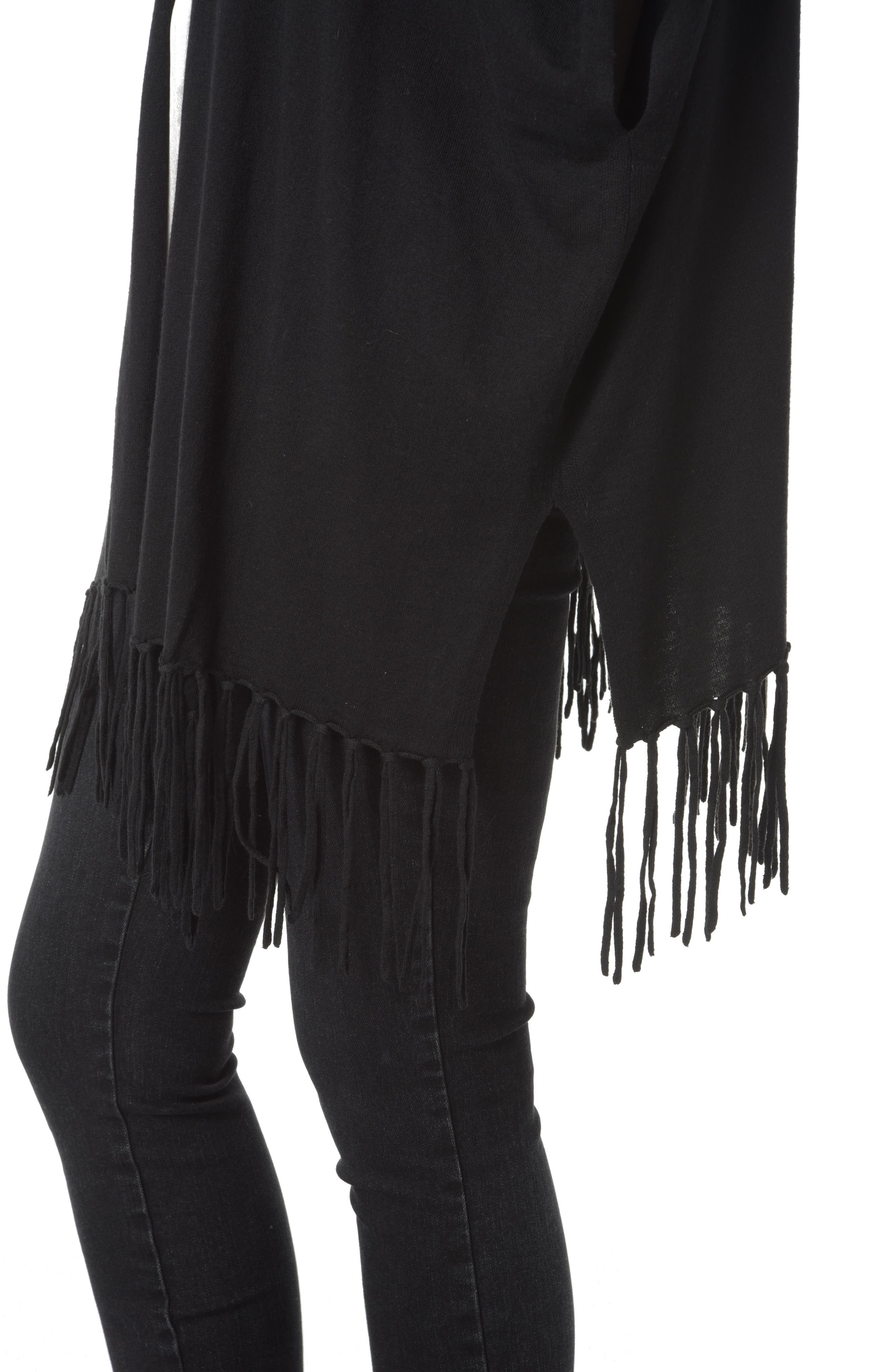 Alternate Image 3  - NYDJ Fringe Sweater Wrap