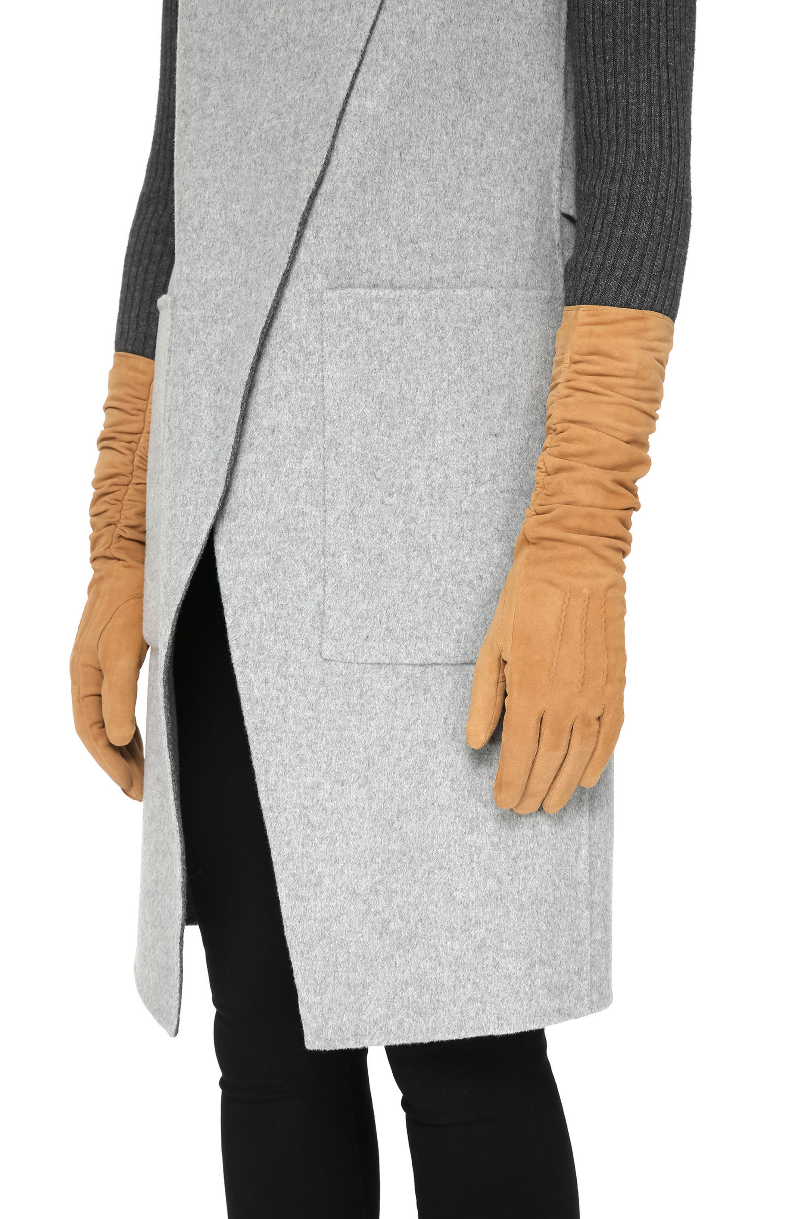 Soia & Kyo Long Suede Gloves