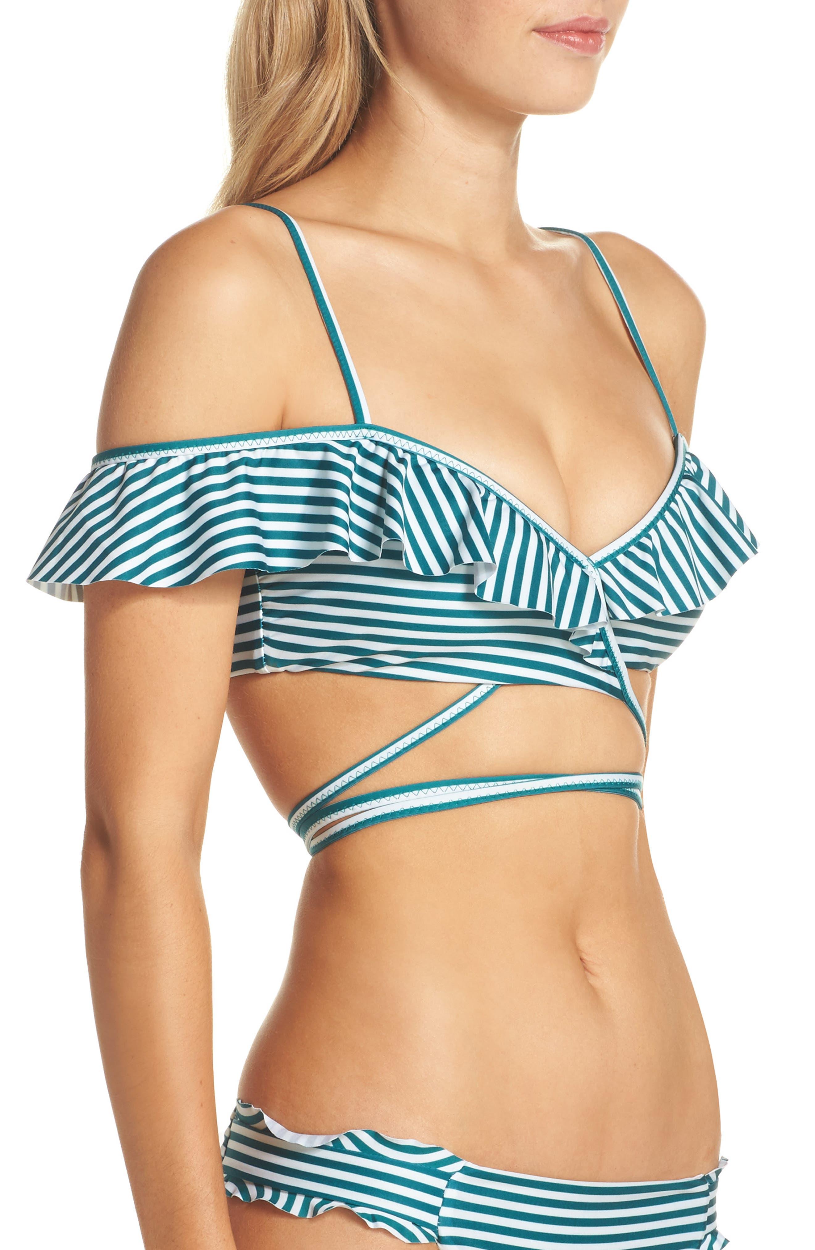 Alternate Image 3  - Isabella Rose Avalon Wrap Bikini Top