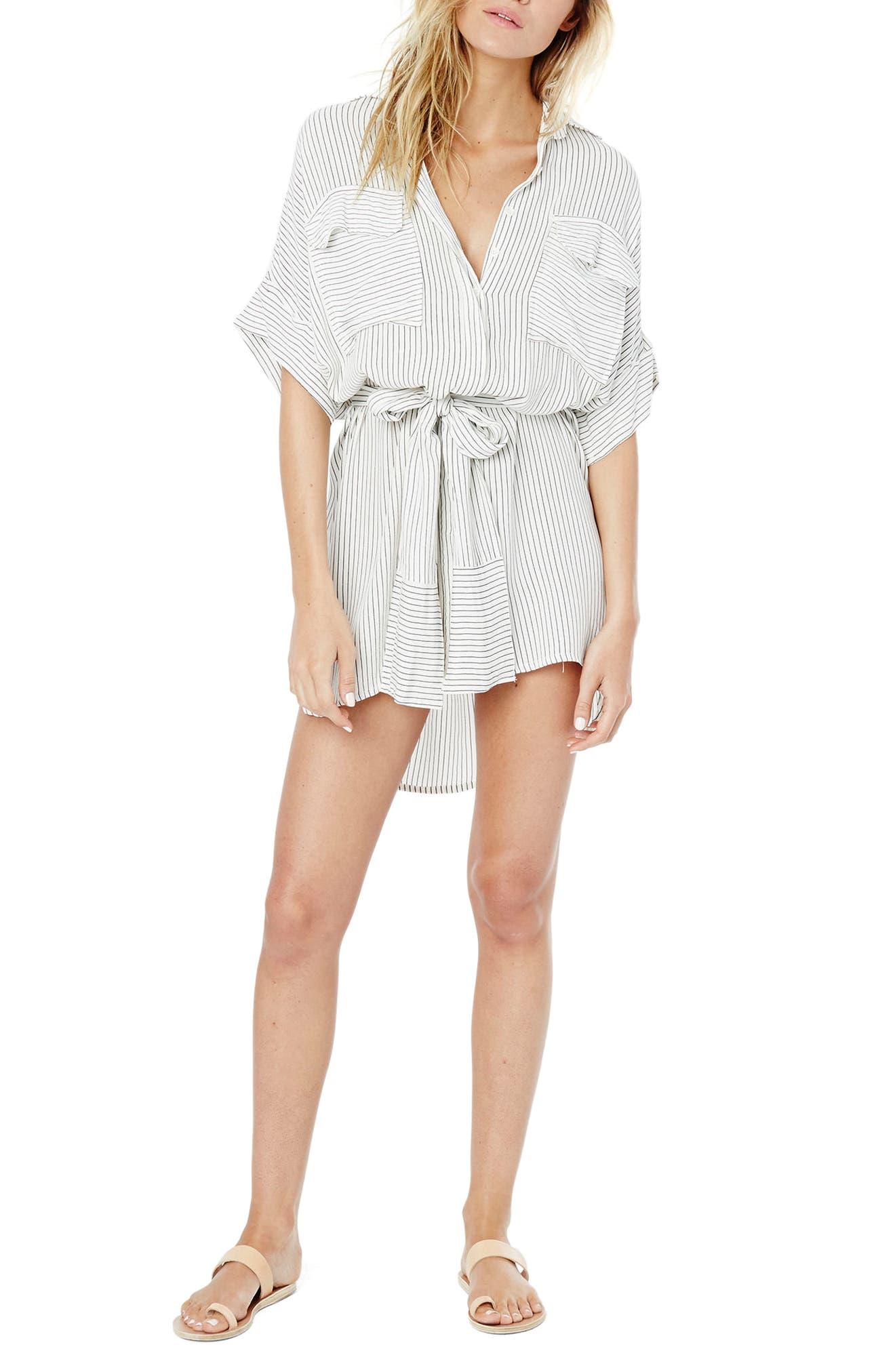 Alternate Image 2  - FAITHFULL THE BRAND Casa Stripe Shirtdress