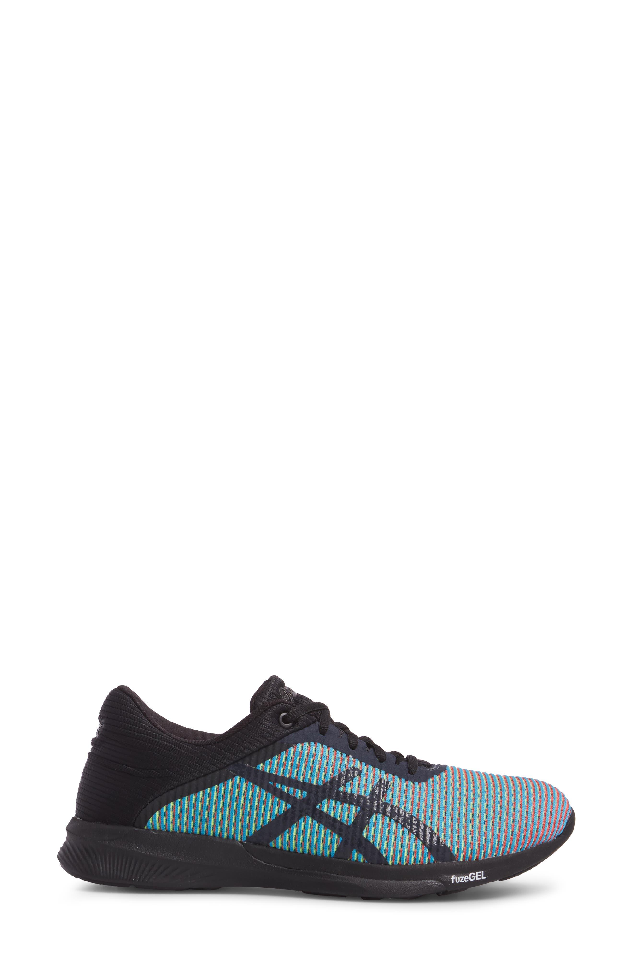 fuseX<sup>™</sup> Rush CM Running Shoe,                             Alternate thumbnail 3, color,                             Aquarium/ Phantom