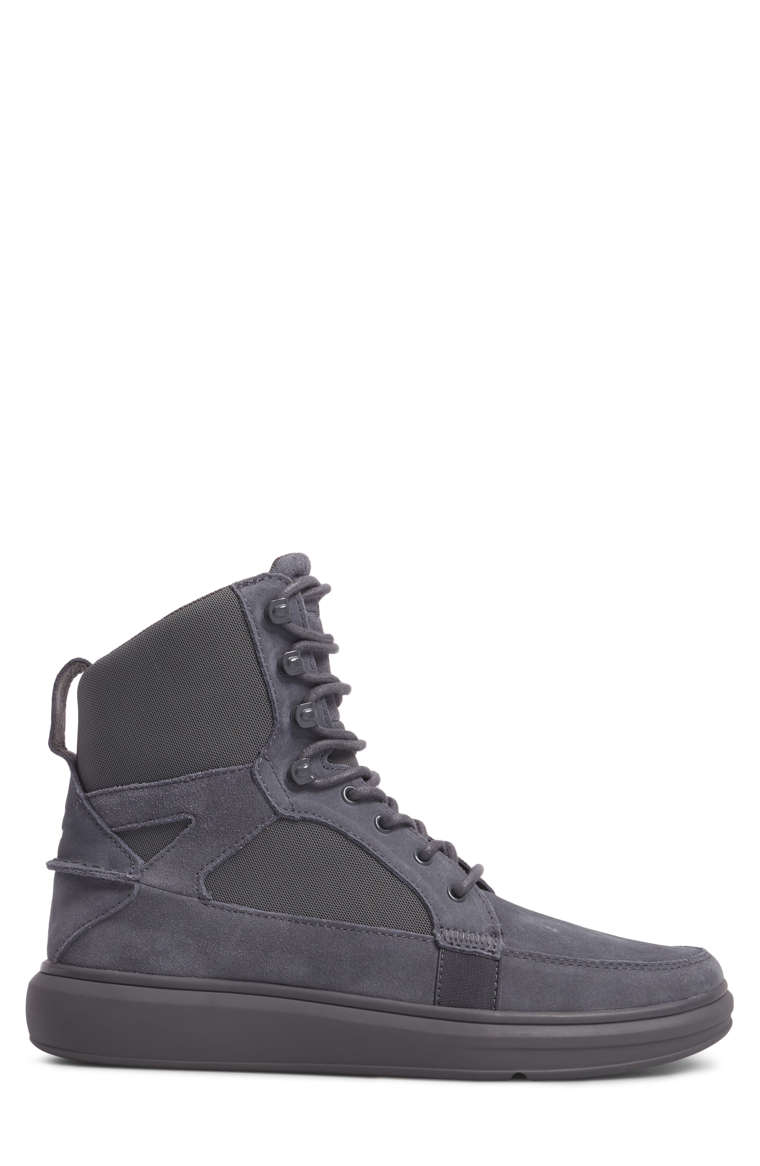 Desimo Sneaker,                             Alternate thumbnail 3, color,                             Smoke Leather