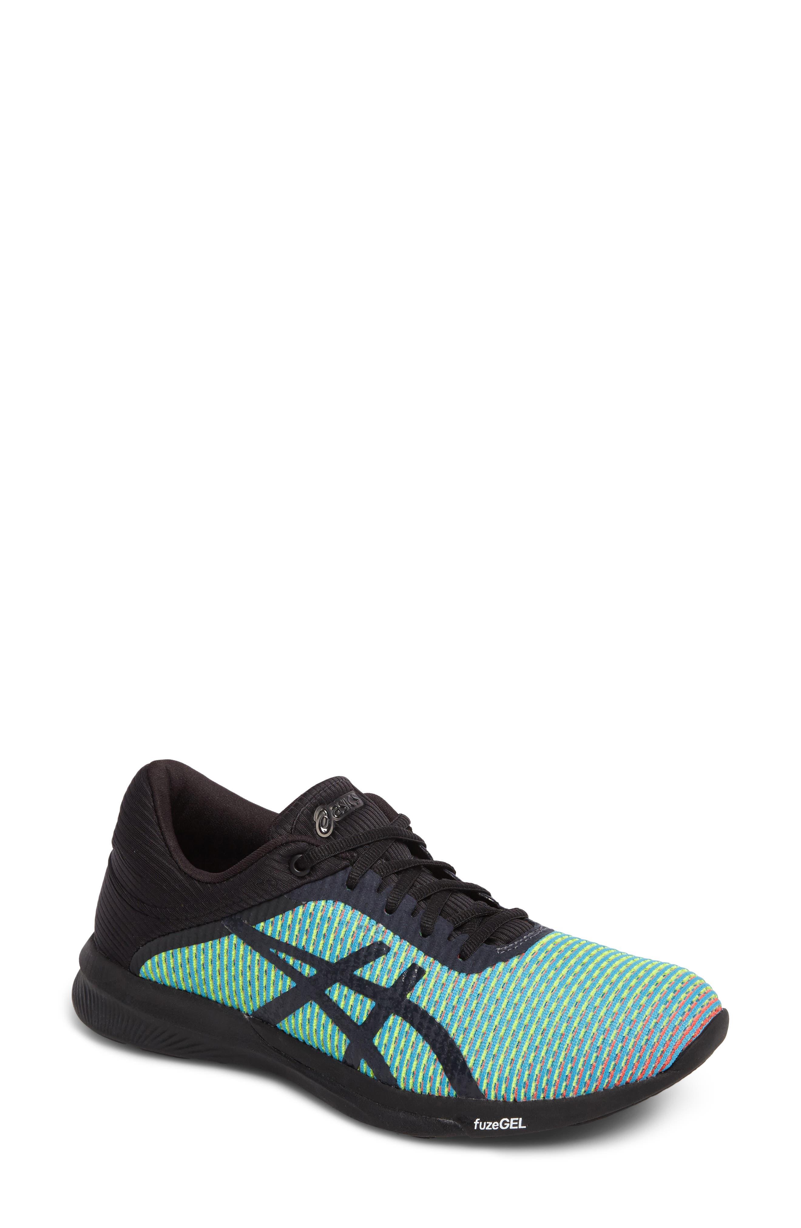 fuseX<sup>™</sup> Rush CM Running Shoe,                         Main,                         color, Aquarium/ Phantom