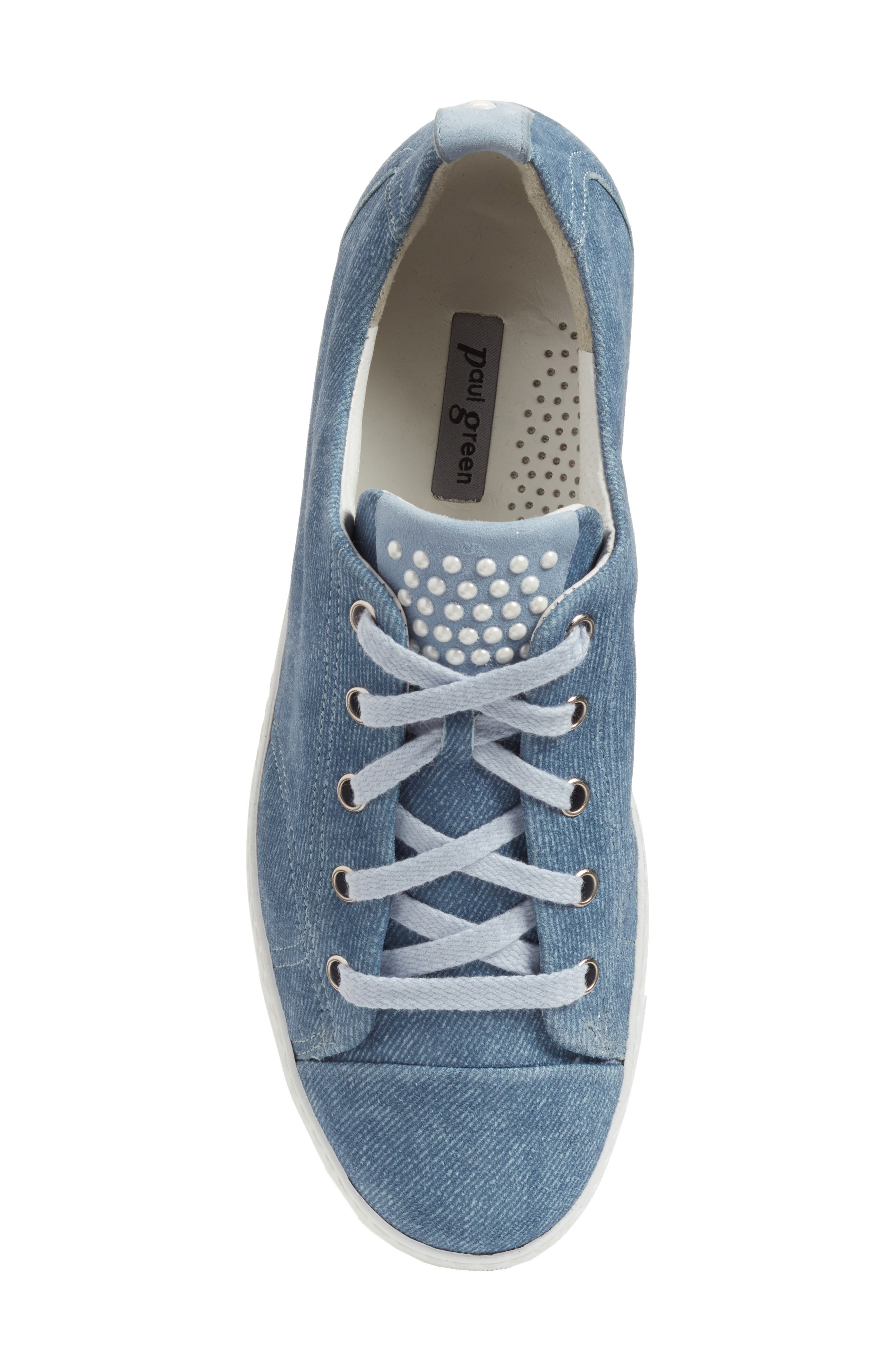 Alternate Image 5  - Paul Green Pearl Metallic Sneaker (Women)