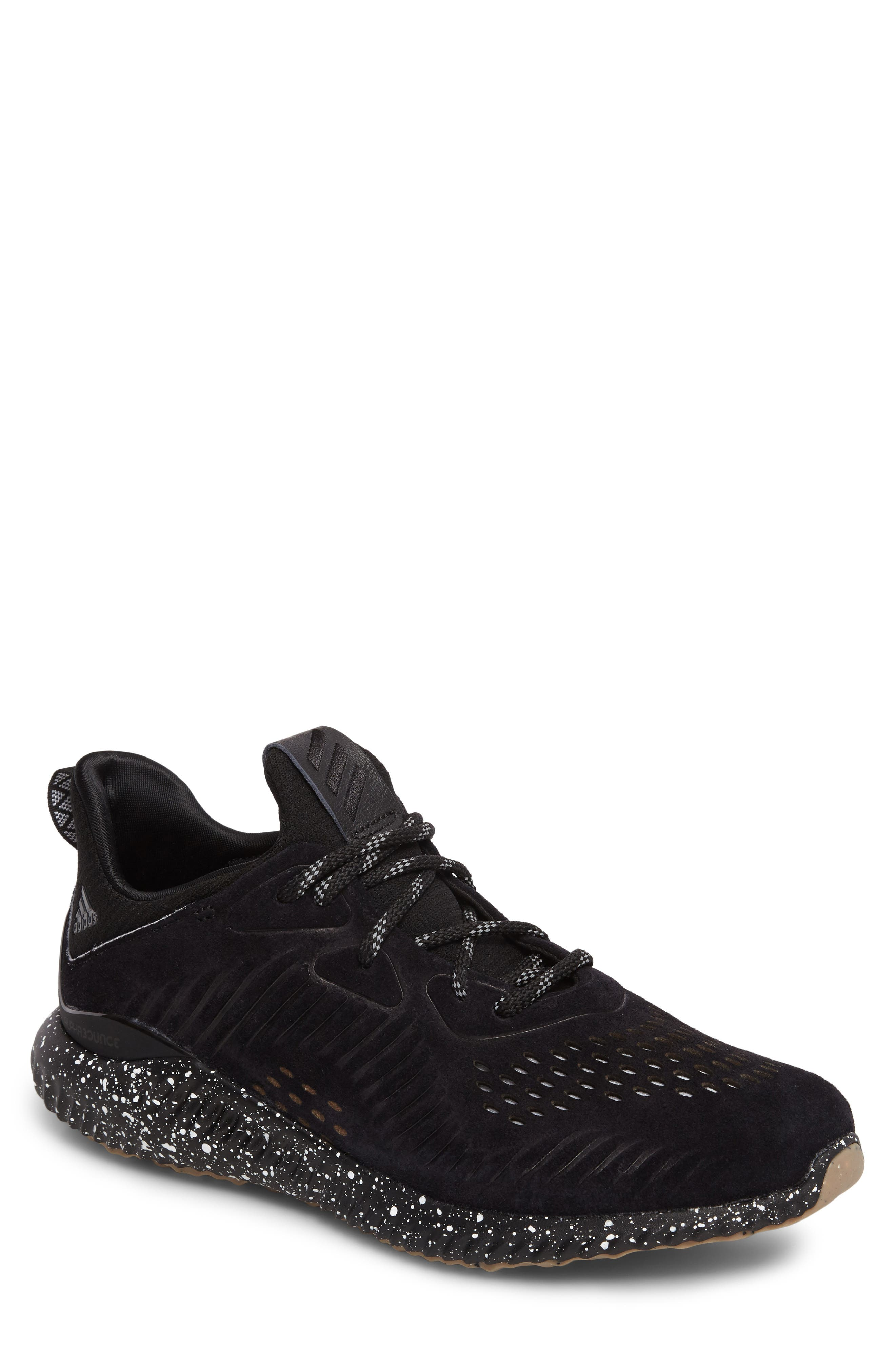 Alternate Image 1 Selected - adidas AlphaBounce LEA Running Shoe (Men)
