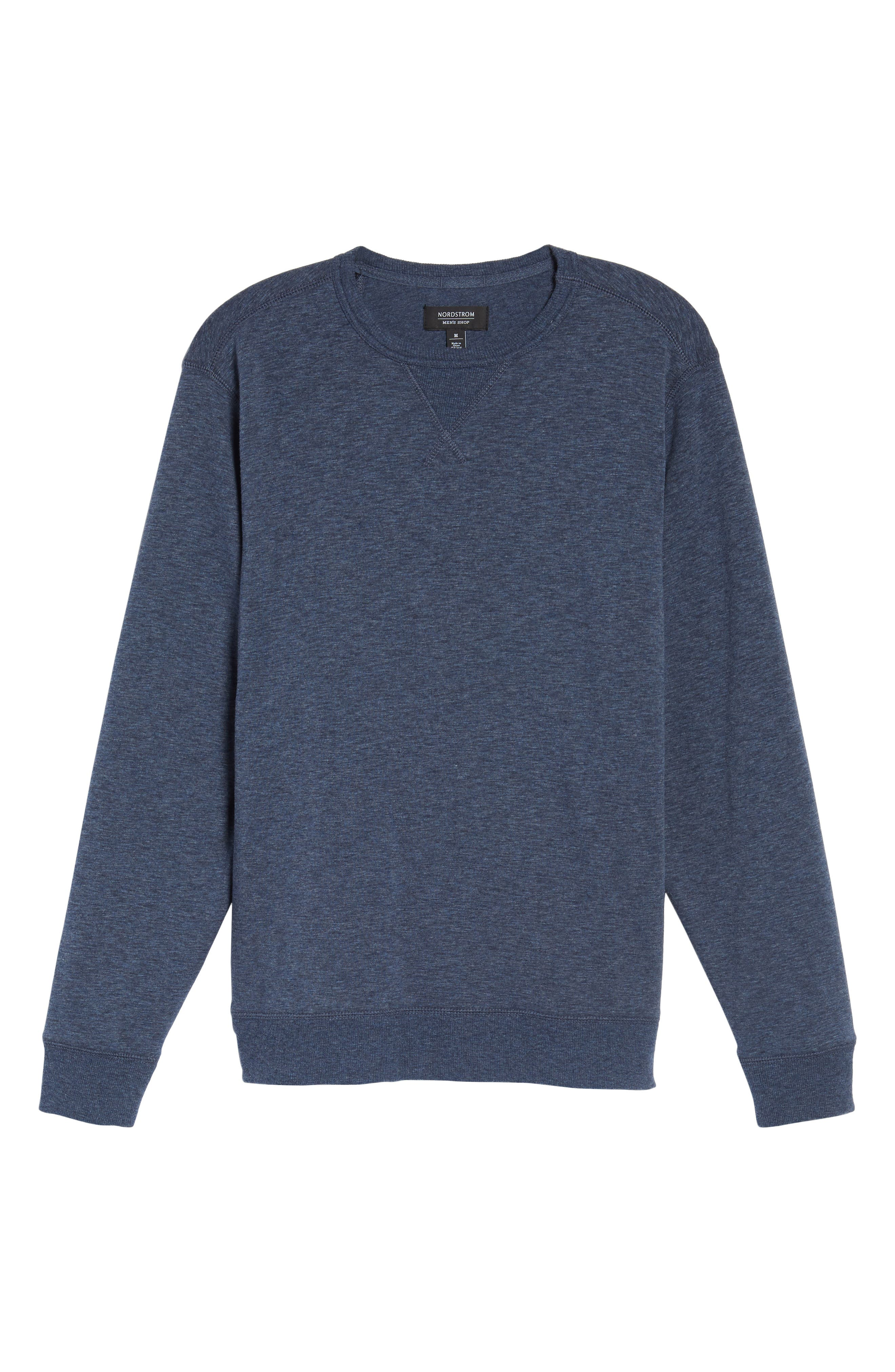 Alternate Image 6  - Nordstrom Men's Shop French Terry Long Sleeve Pajama Top