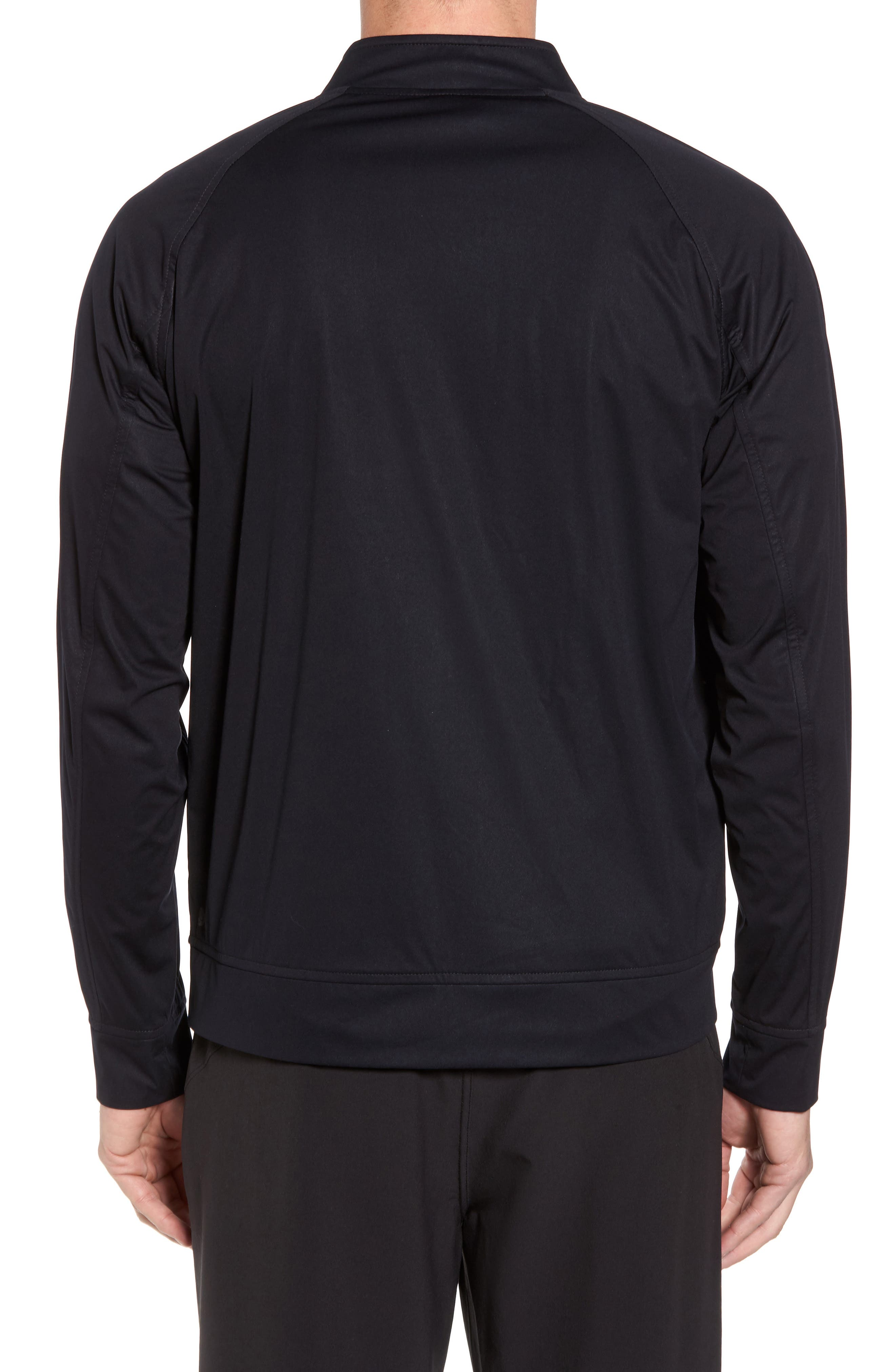 Softshell Bomber Jacket,                             Alternate thumbnail 2, color,                             Black