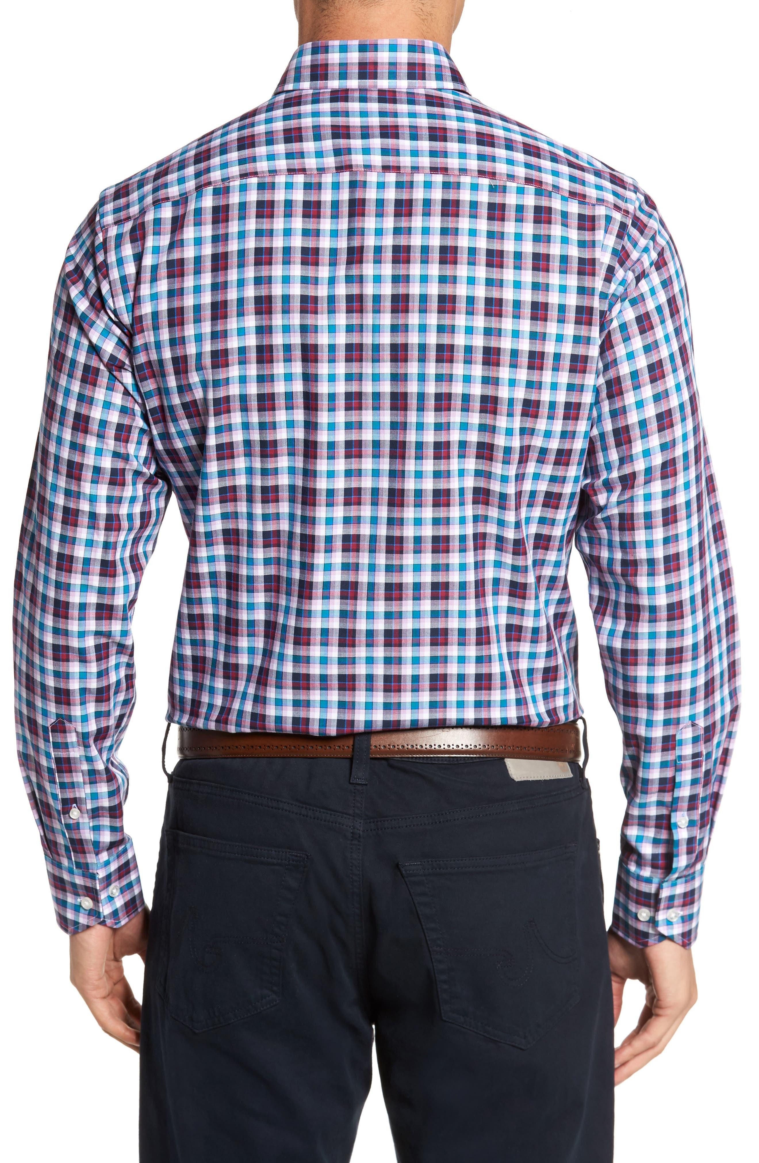Alternate Image 2  - TailorByrd Coushatta Plaid Sport Shirt