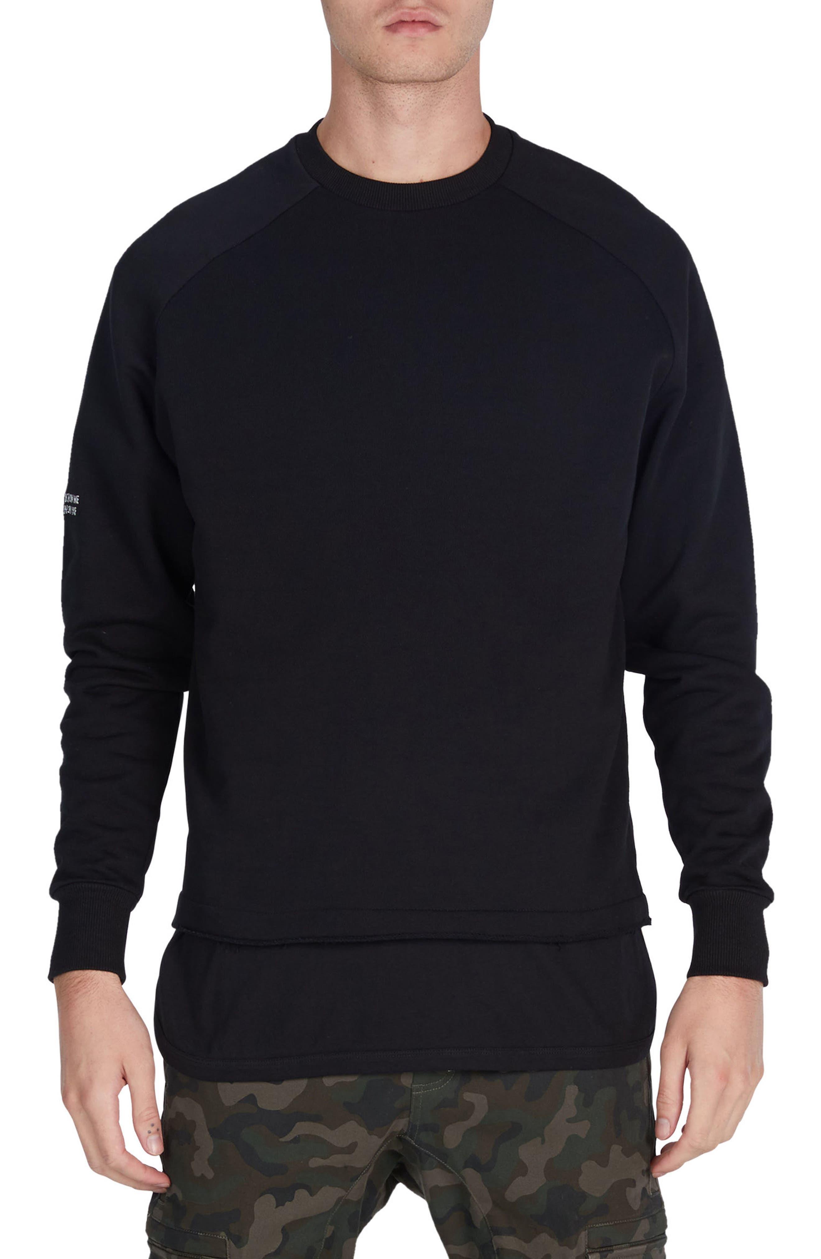 ZANEROBE Torn Crewneck Sweatshirt