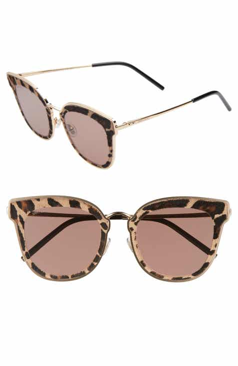 e92fb5a0d0 Jimmy Choo Niles 63mm Oversize Cat Eye Sunglasses