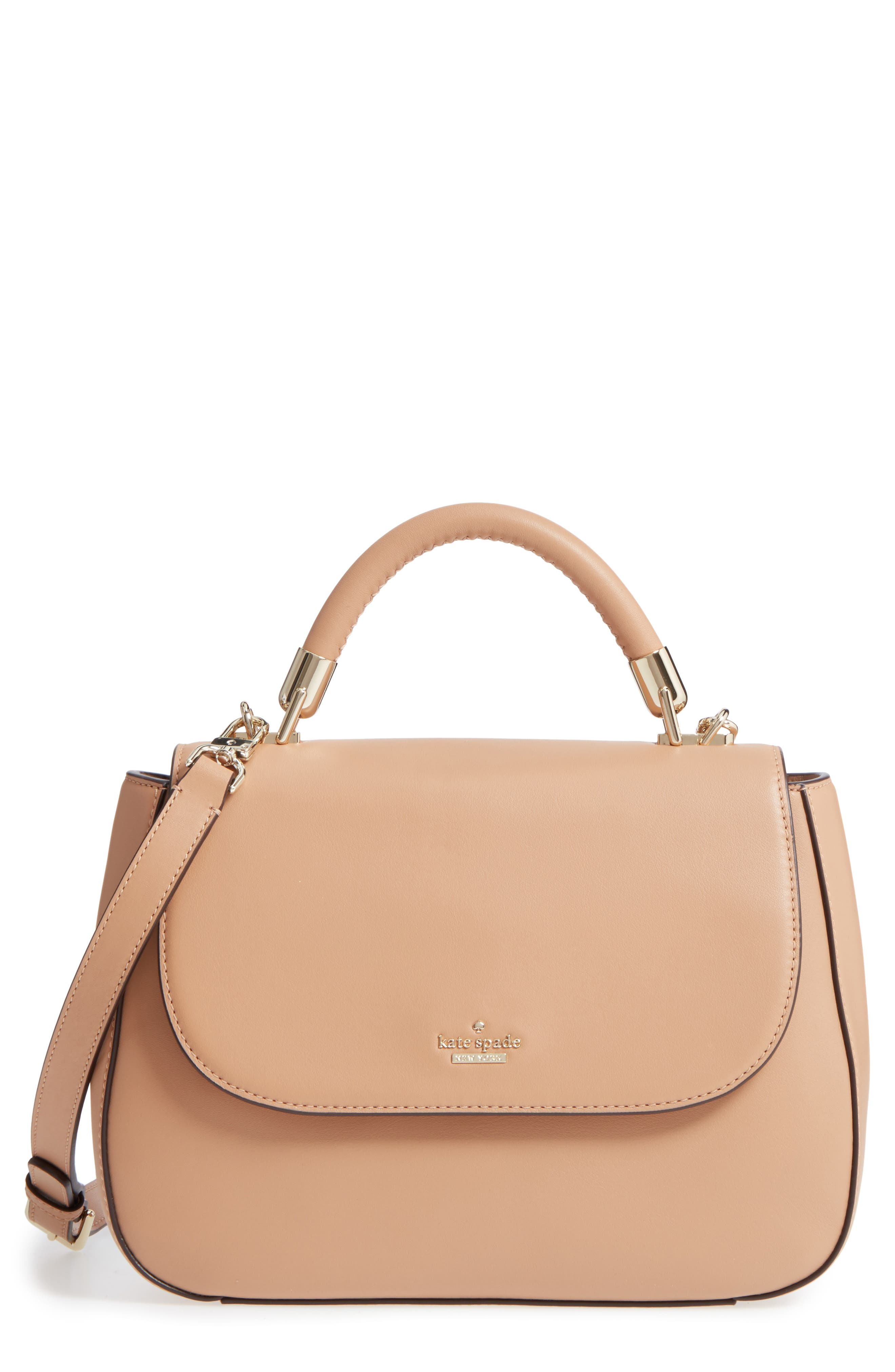 kate spade new york robson lane - marcelle leather top handle satchel