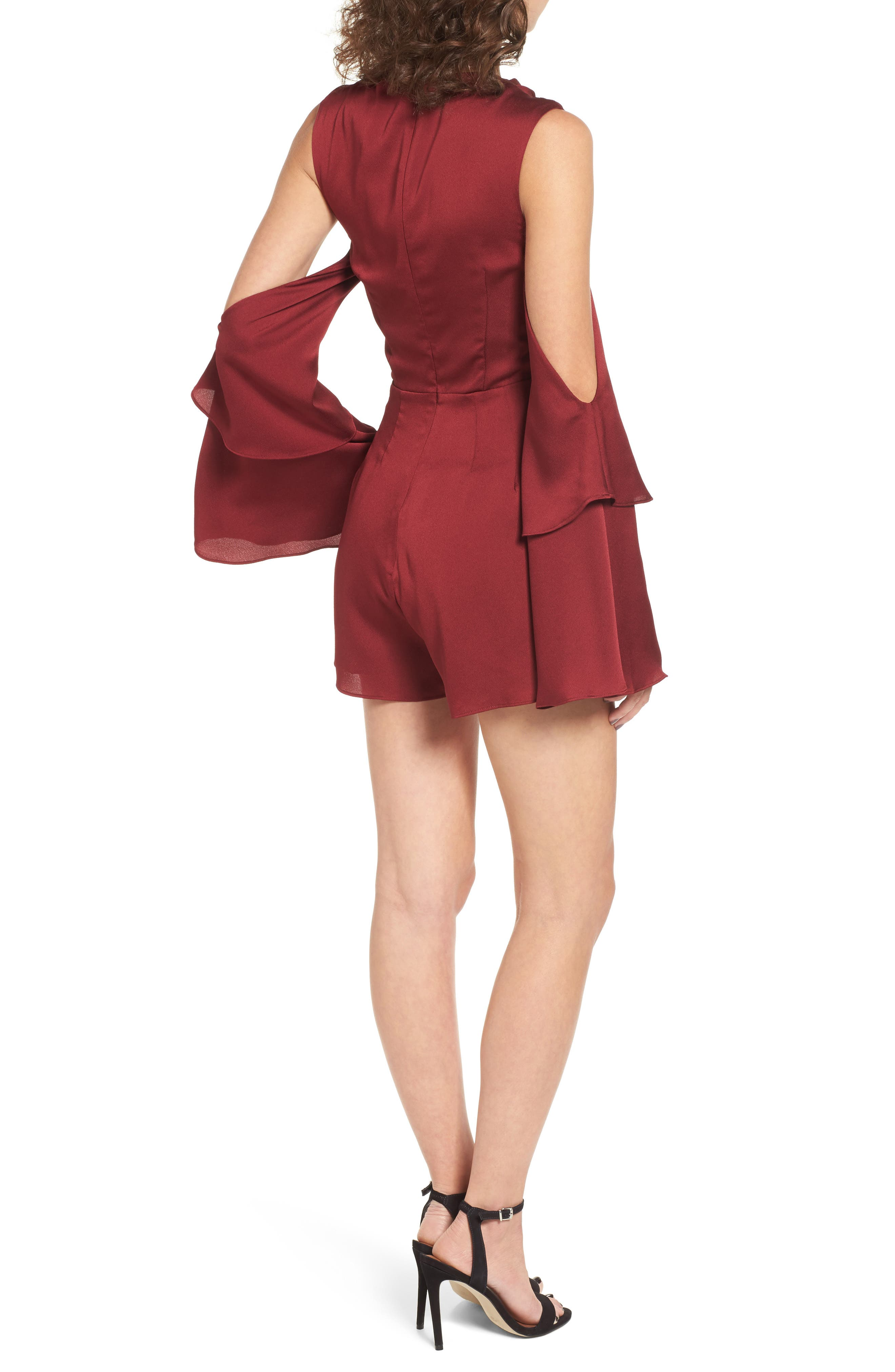 Alternate Image 3  - Keepsake the Label Transcend Cold Shoulder Romper