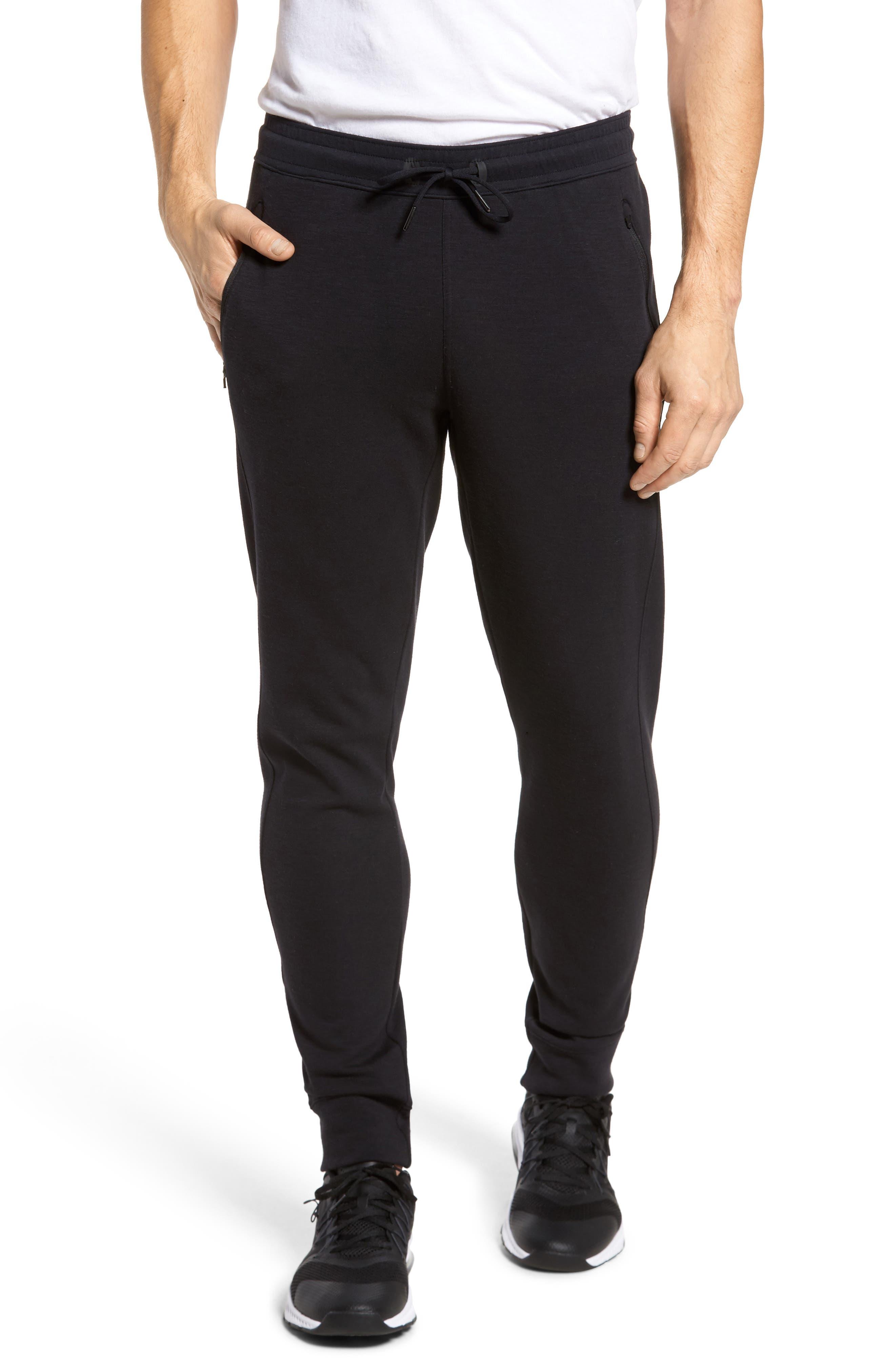 Magnetite Fleece Jogger Pants,                         Main,                         color, Black Oxide Melange