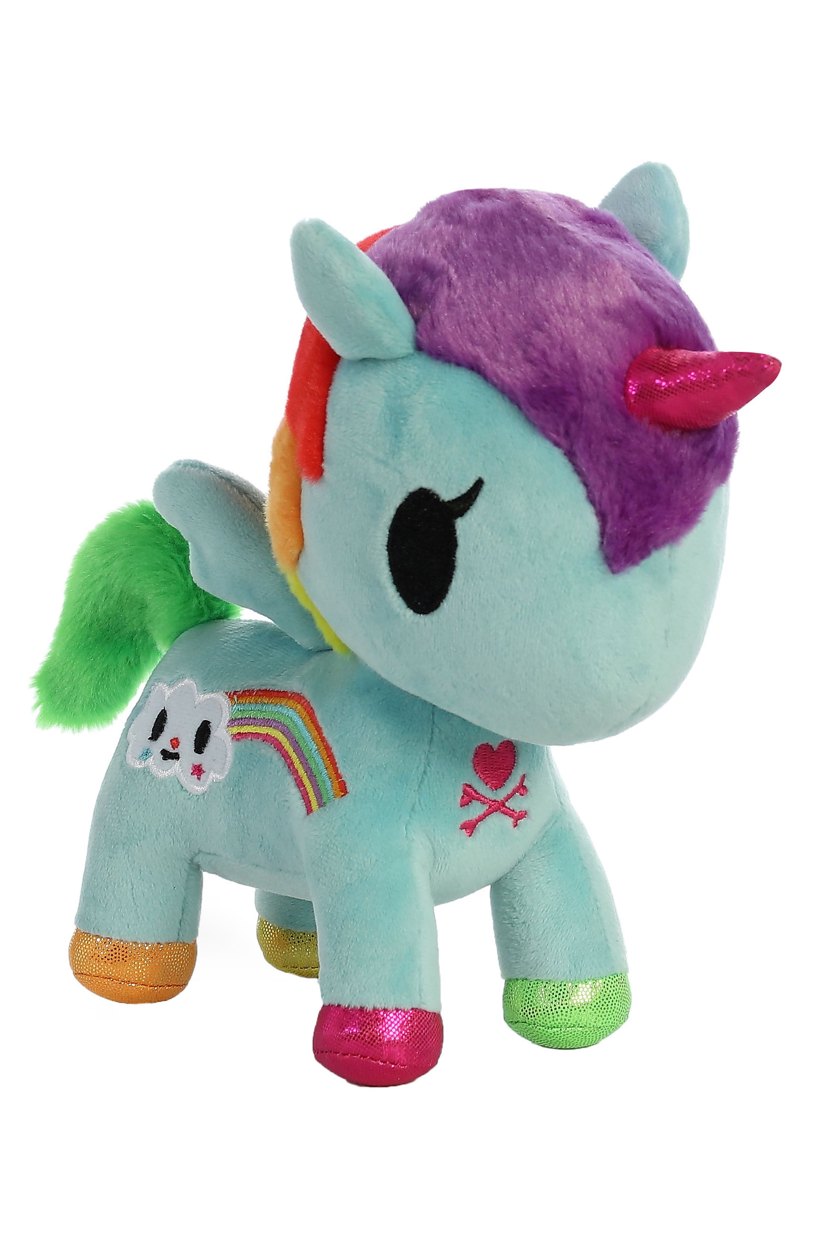 x tokidoki Pixie Unicorno Stuffed Animal,                         Main,                         color, Blue