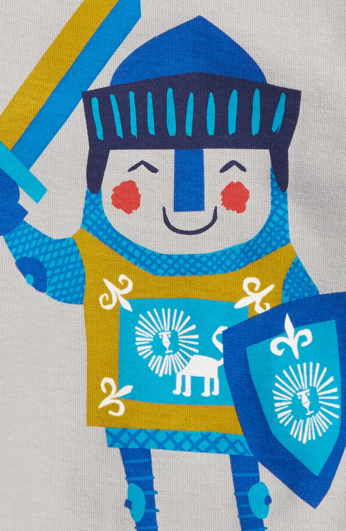 Alternate Image 2  - Tea Collection Little Knight T-Shirt (Baby Boys)