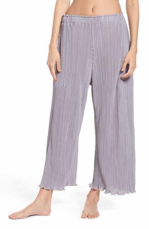 LACAUSA Mika Pleated Lounge Pants