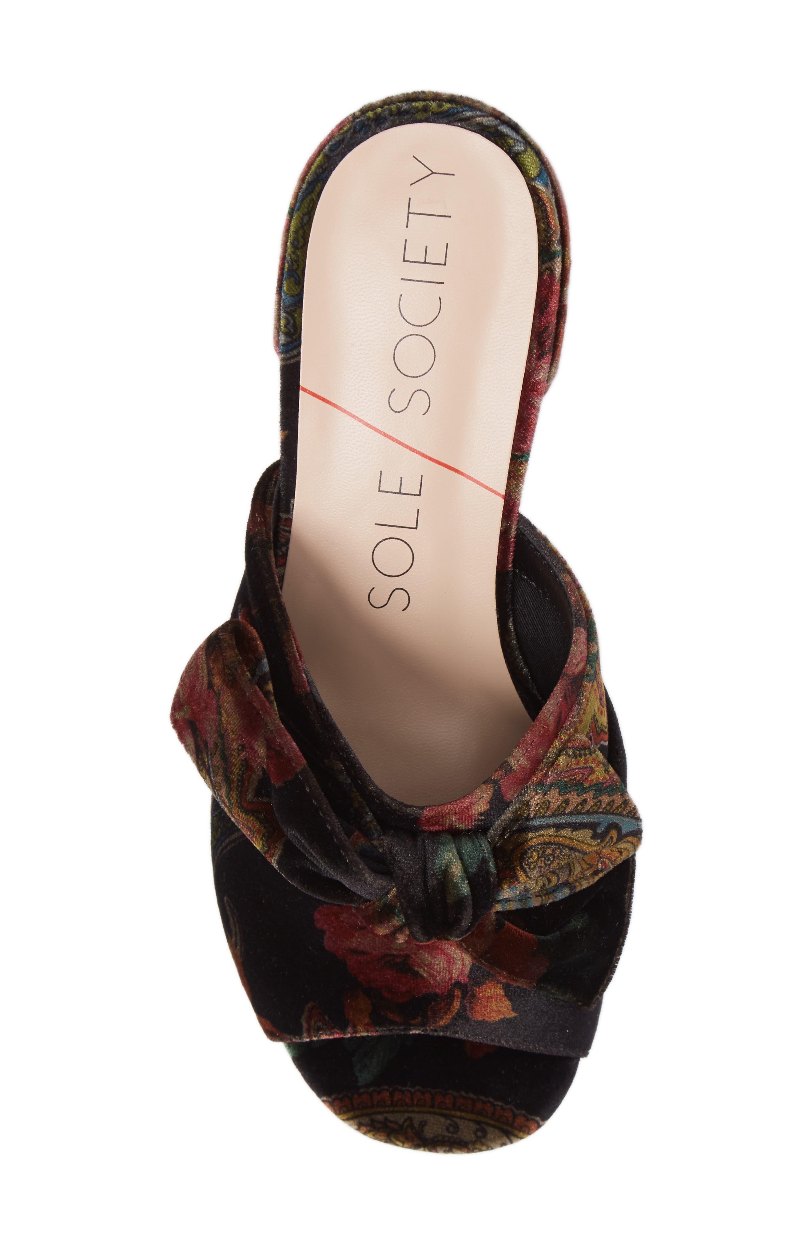 Alternate Image 5  - Sole Society Cece Mule Sandal (Women)
