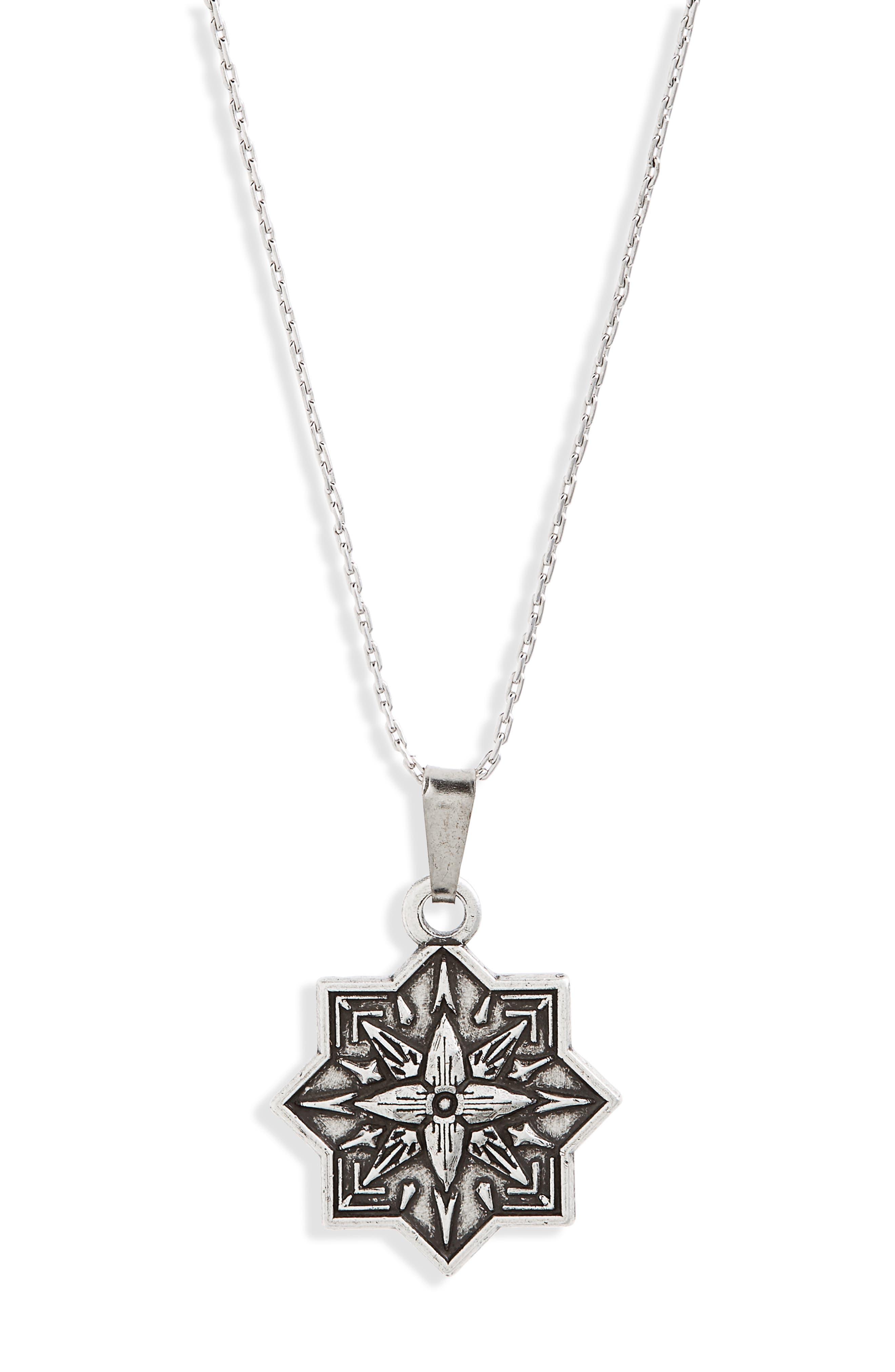 Healing Love II Expandable Pendant Necklace,                             Alternate thumbnail 2, color,                             Silver