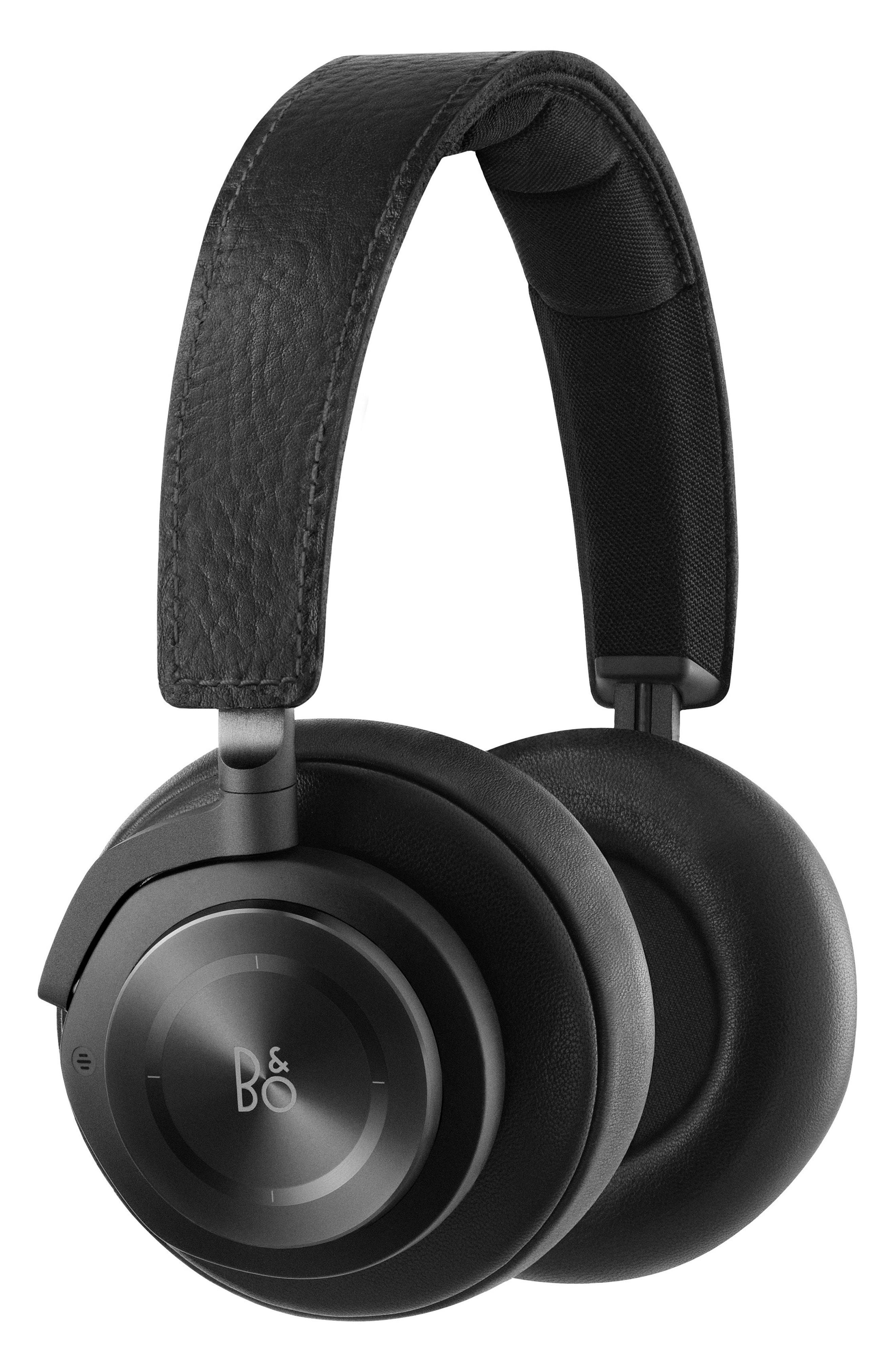 H9 Wireless Noise Canceling on-Ear Headphones,                             Main thumbnail 1, color,                             Black