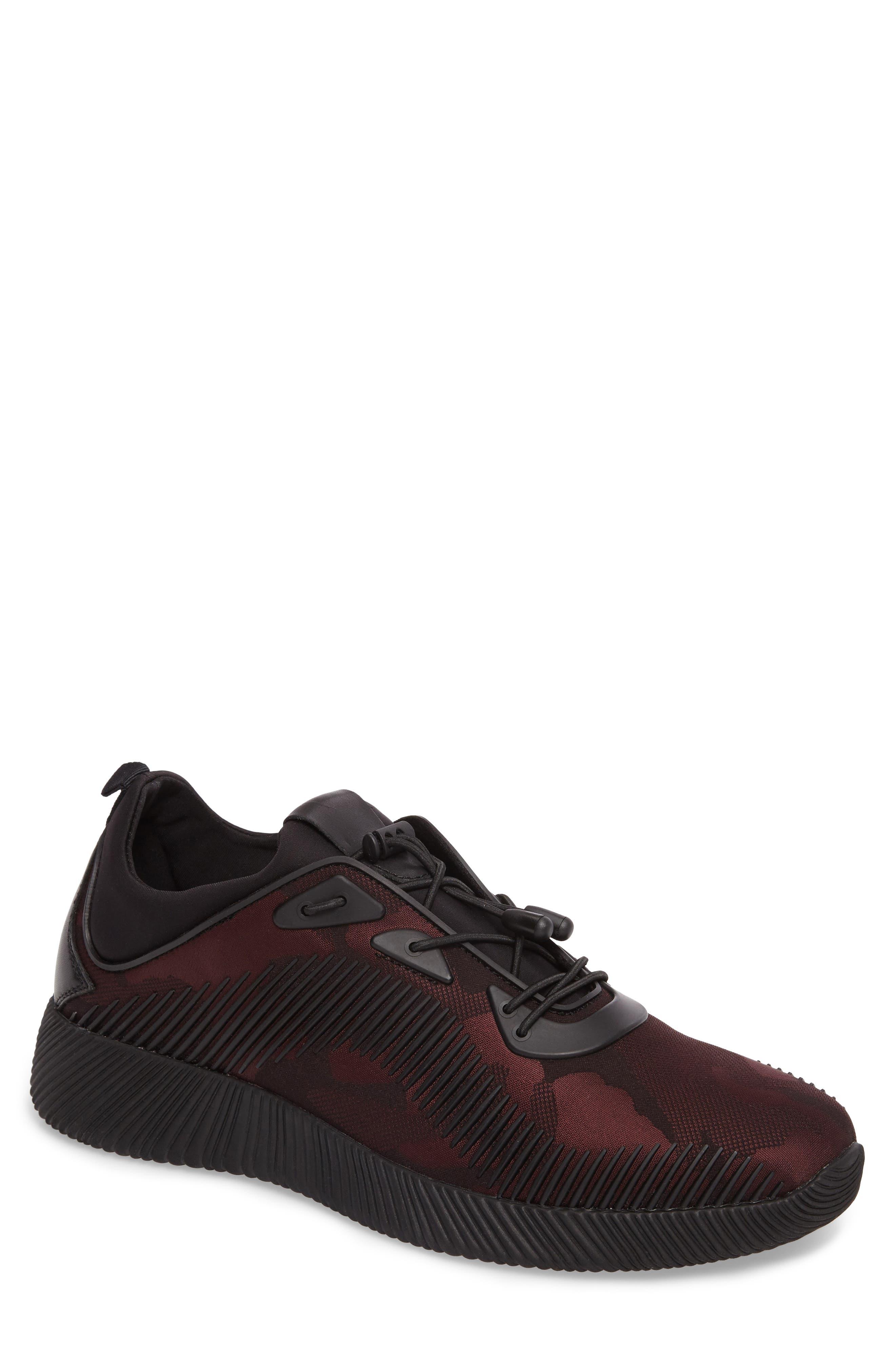 Sinch Sneaker,                         Main,                         color, Bordeaux Fabric