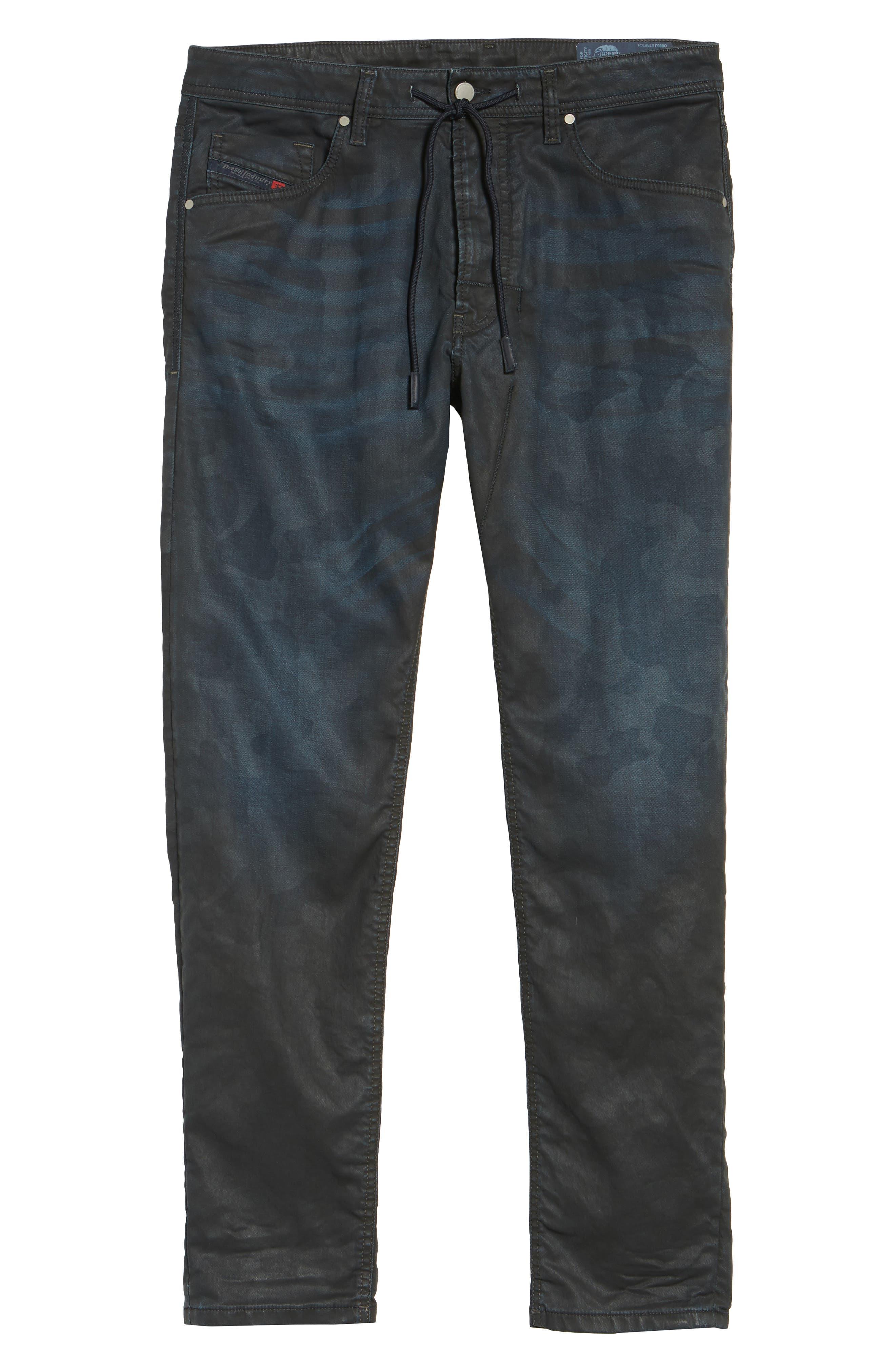 Alternate Image 6  - DIESEL® Narrot Slouchy Skinny Fit Jeans