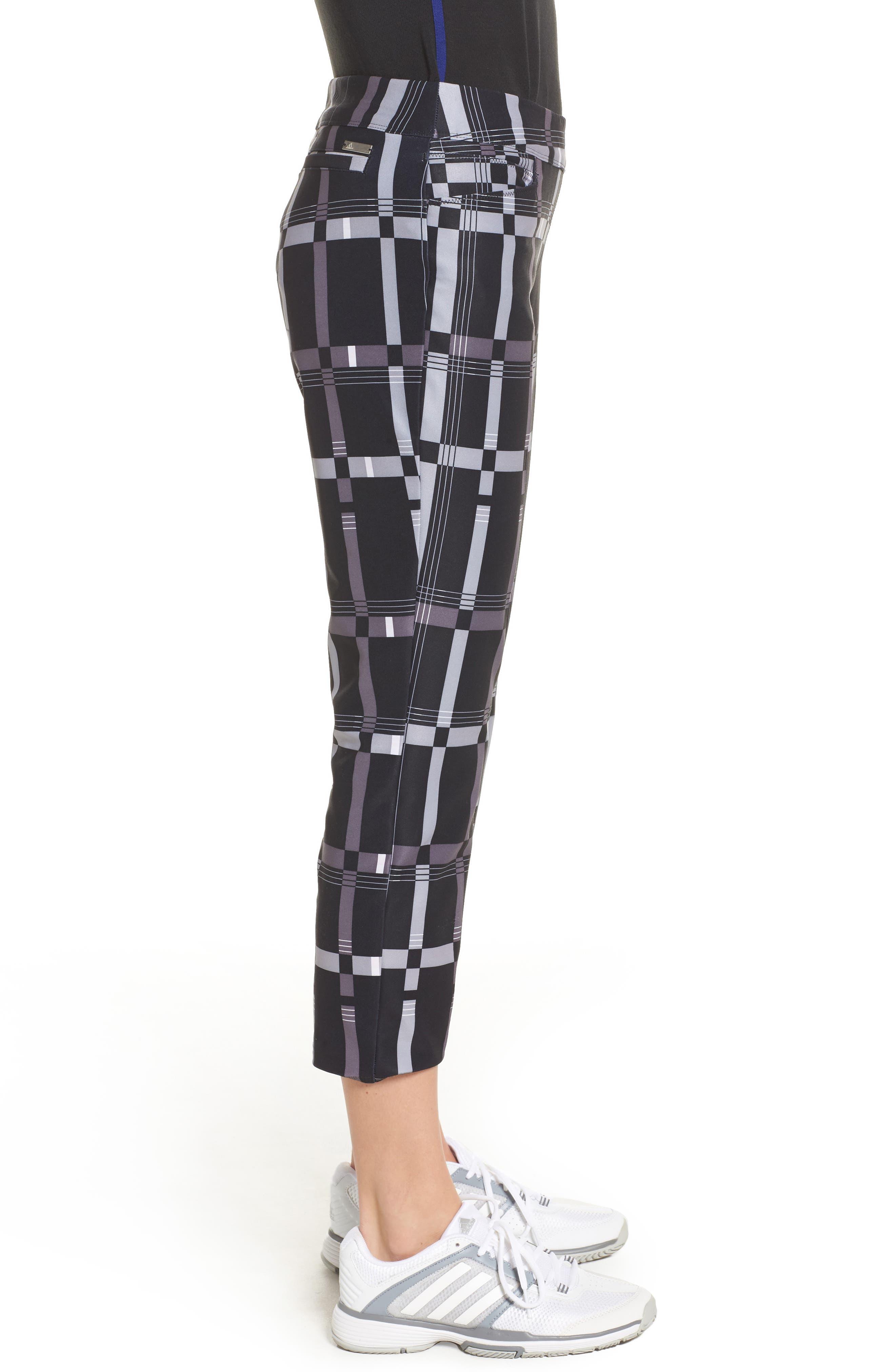 adistar Ankle Pants,                             Alternate thumbnail 3, color,                             Black