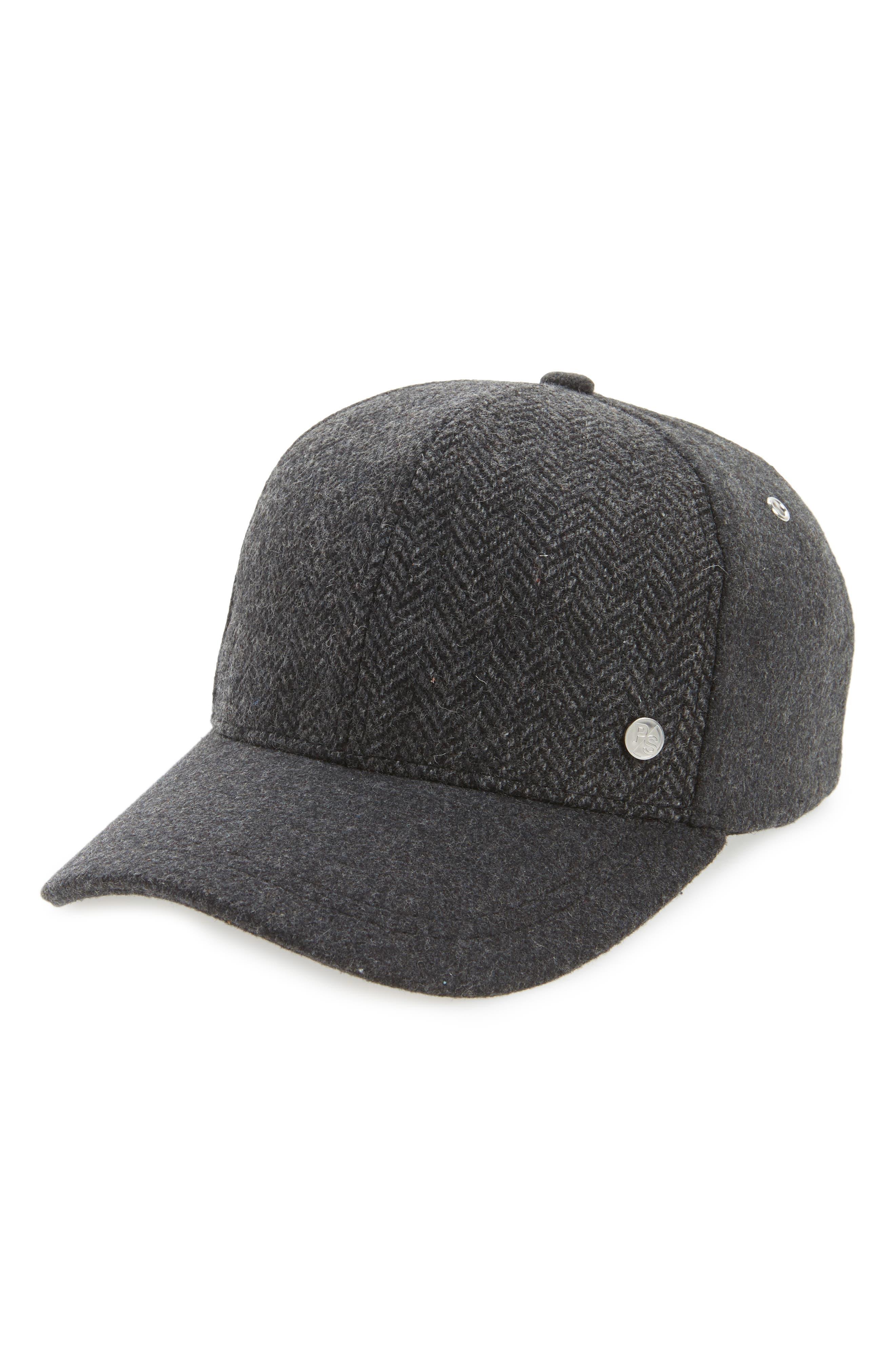Alternate Image 1 Selected - Paul Smith Herringbone Baseball Cap
