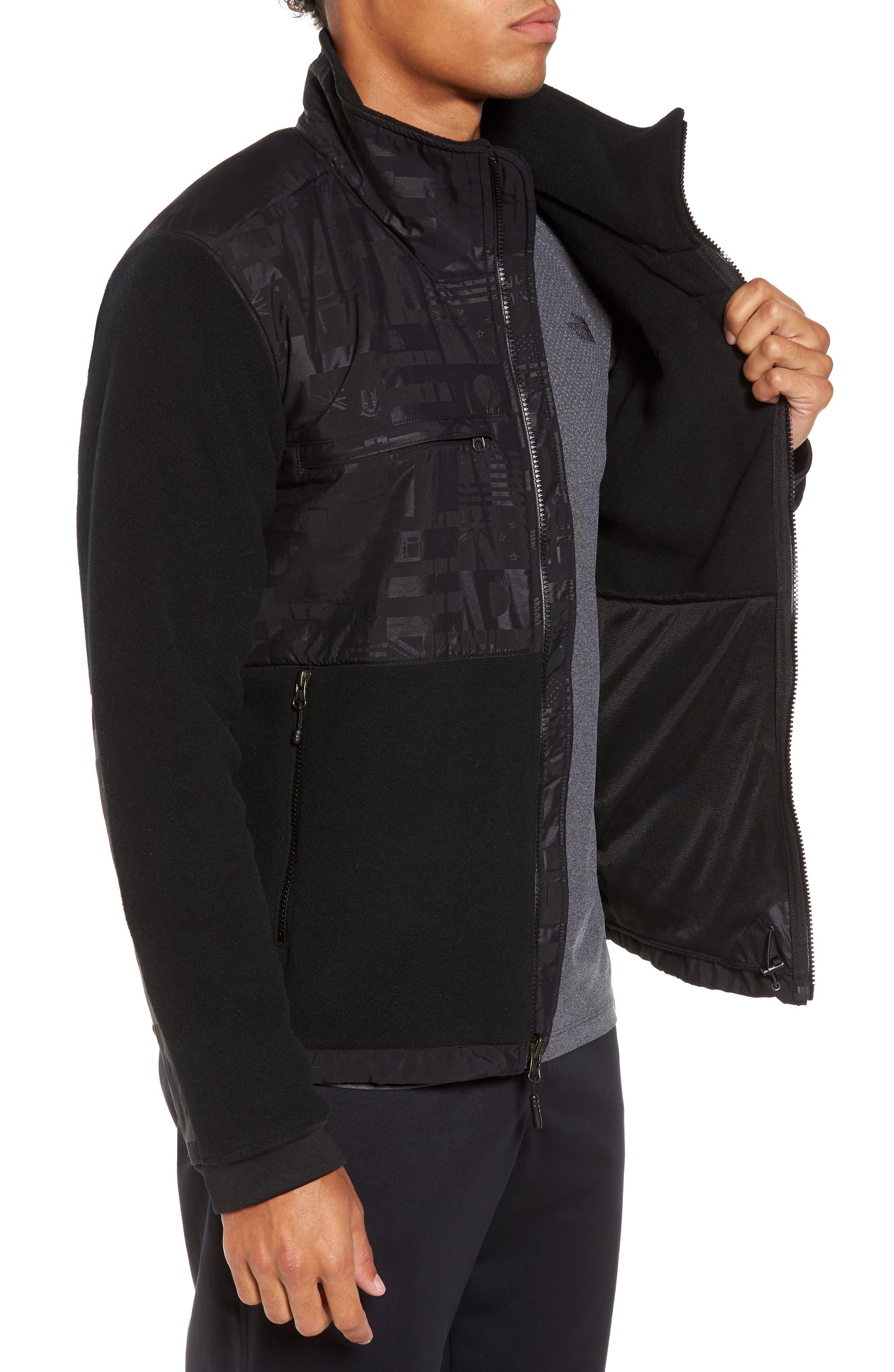 Denali 2 Polartec<sup>®</sup> Fleece Hoodie,                             Alternate thumbnail 3, color,                             Black