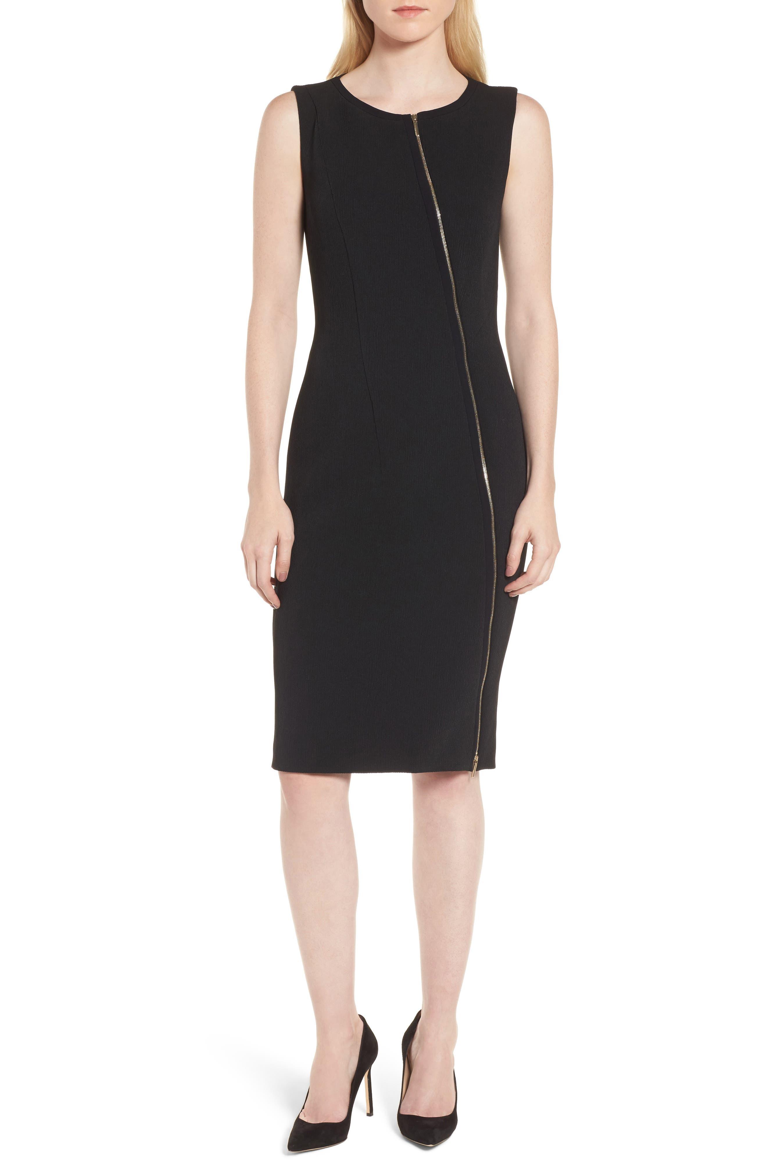Danafea Dress,                         Main,                         color, Black