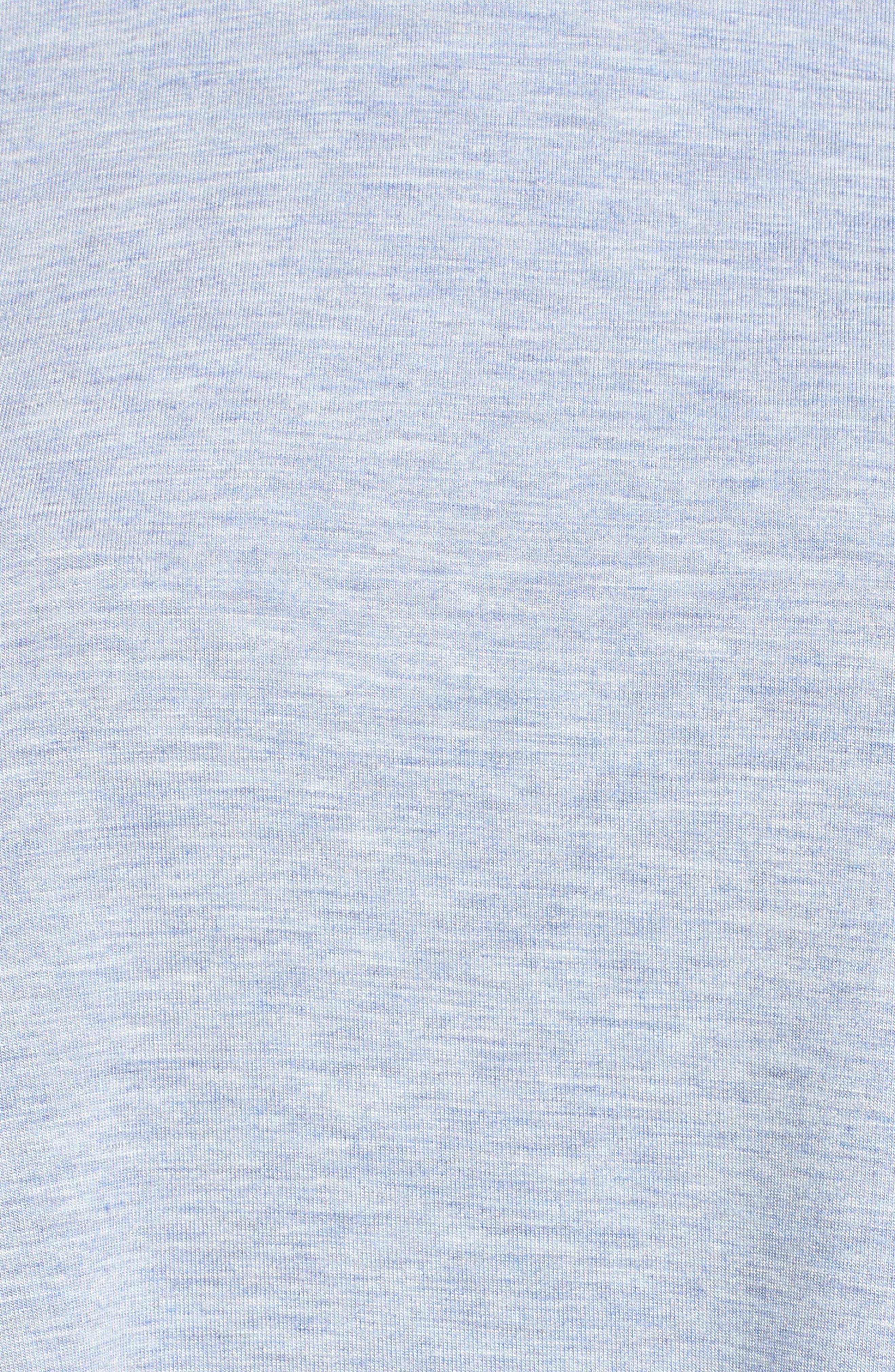 Alternate Image 5  - Natori Lace Trim Tee