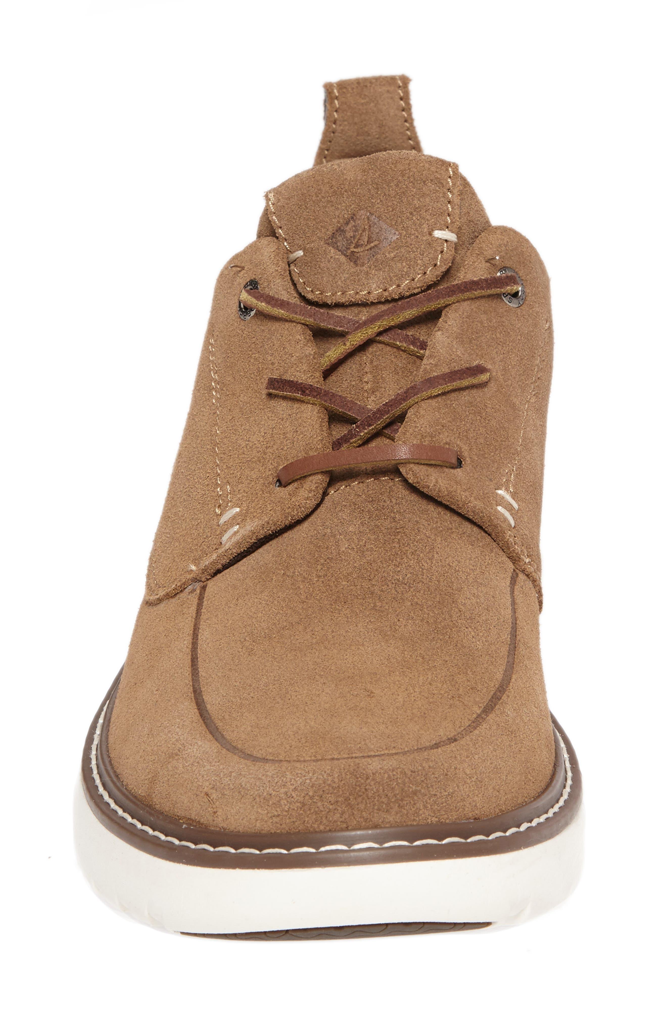 Element Chukka Boot,                             Alternate thumbnail 4, color,                             Carmel Leather