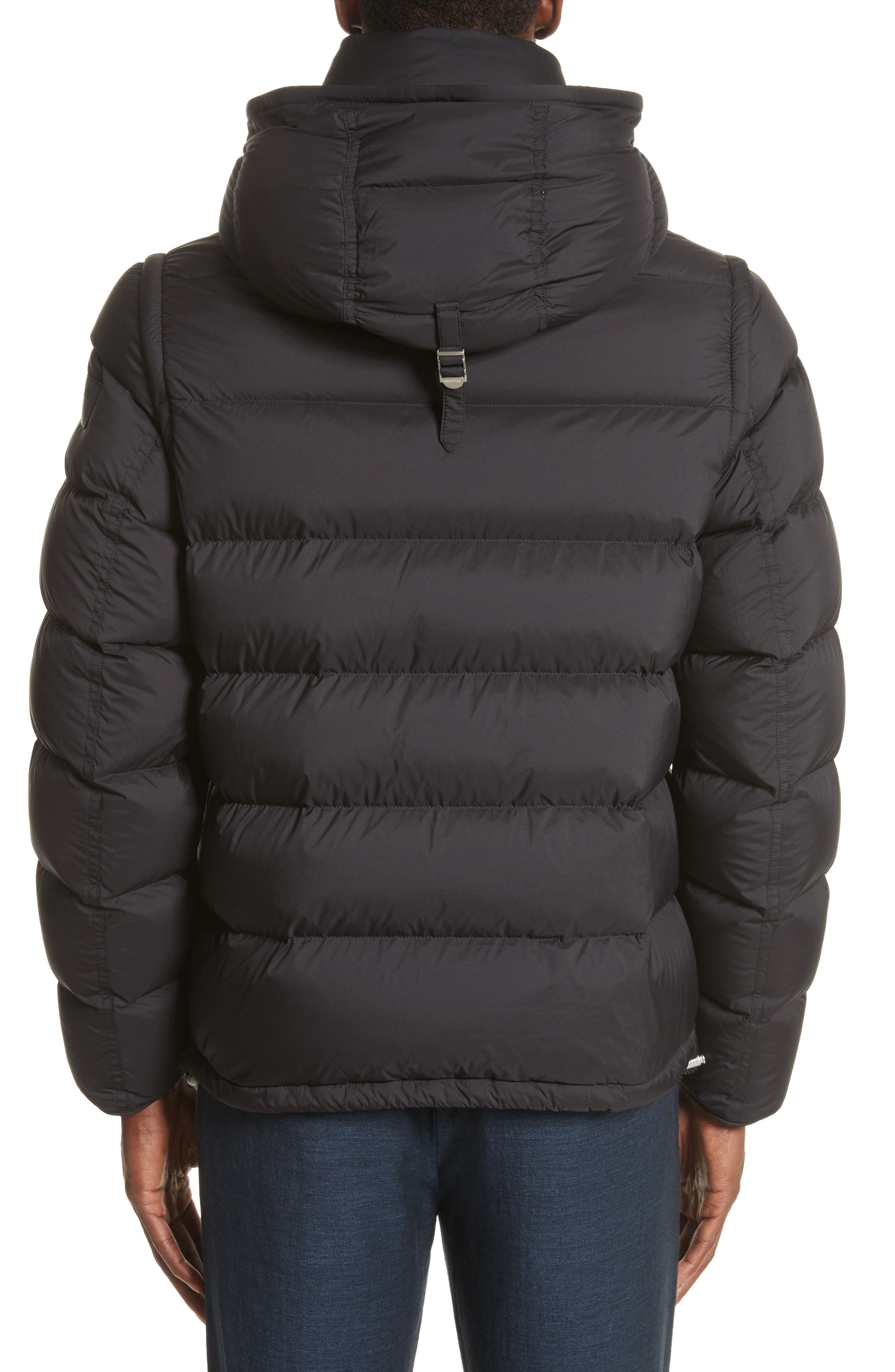 Alternate Image 2  - Burberry Hartley Convertible Down Jacket