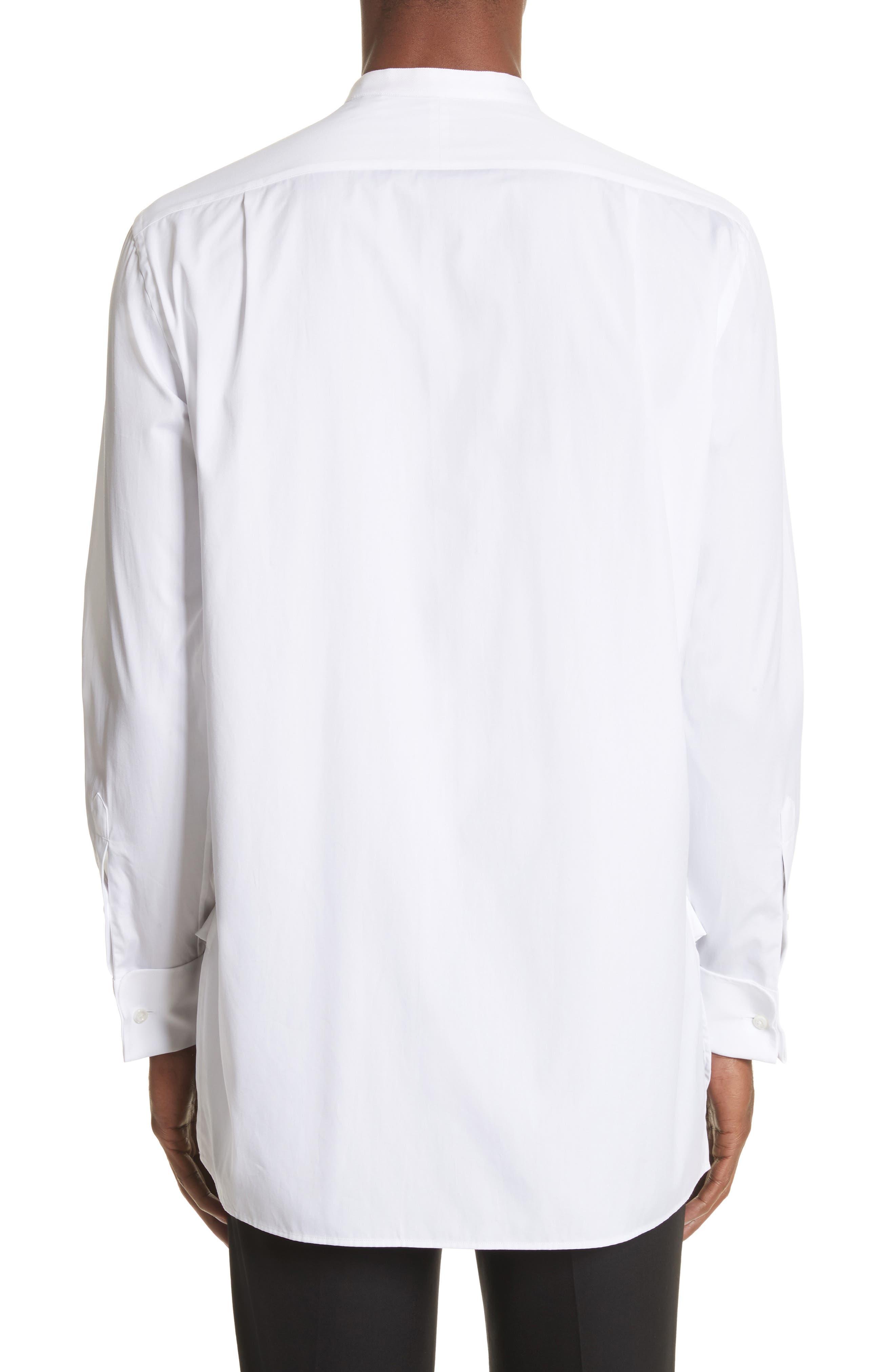 Bib Detail Sport Shirt,                             Alternate thumbnail 2, color,                             White