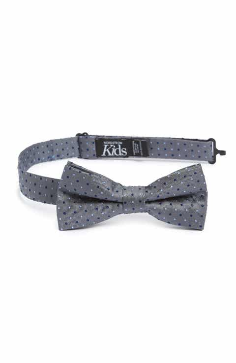 Boys accessories belts hats watches more nordstrom nordstrom dot silk bow tie boys ccuart Images
