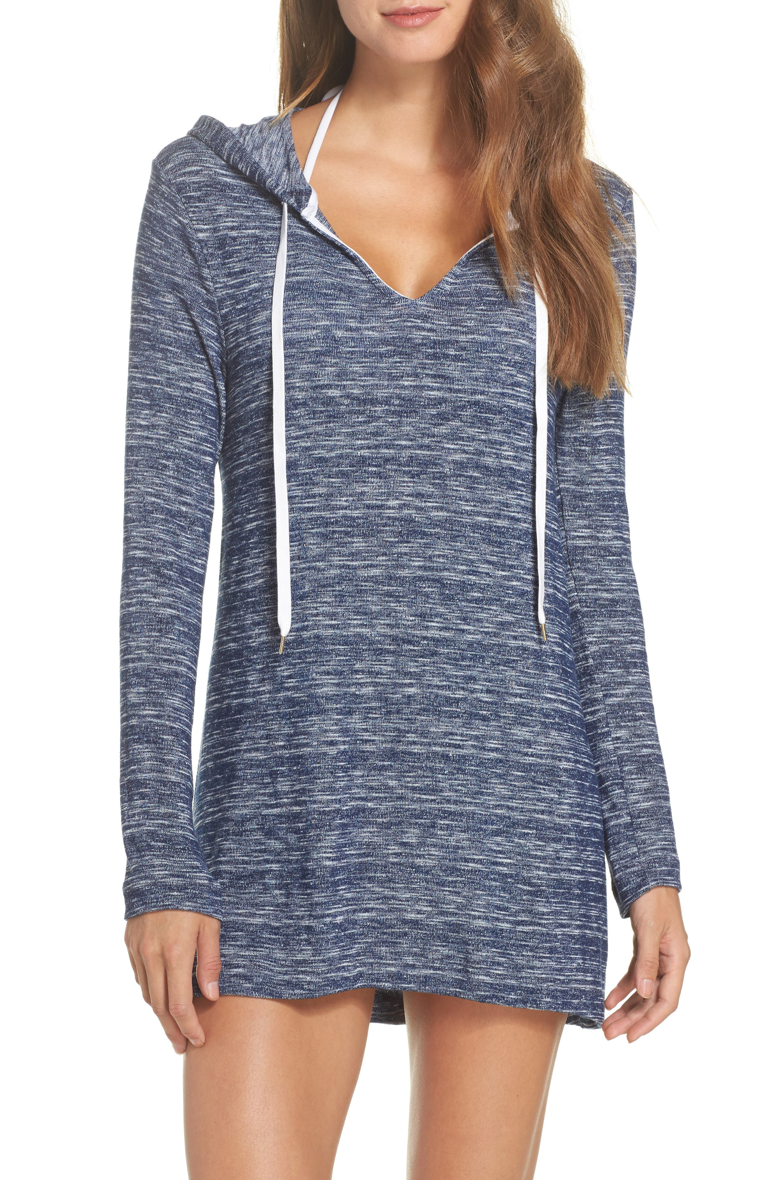 Cover-Up Tunic,                         Main,                         color, Denim
