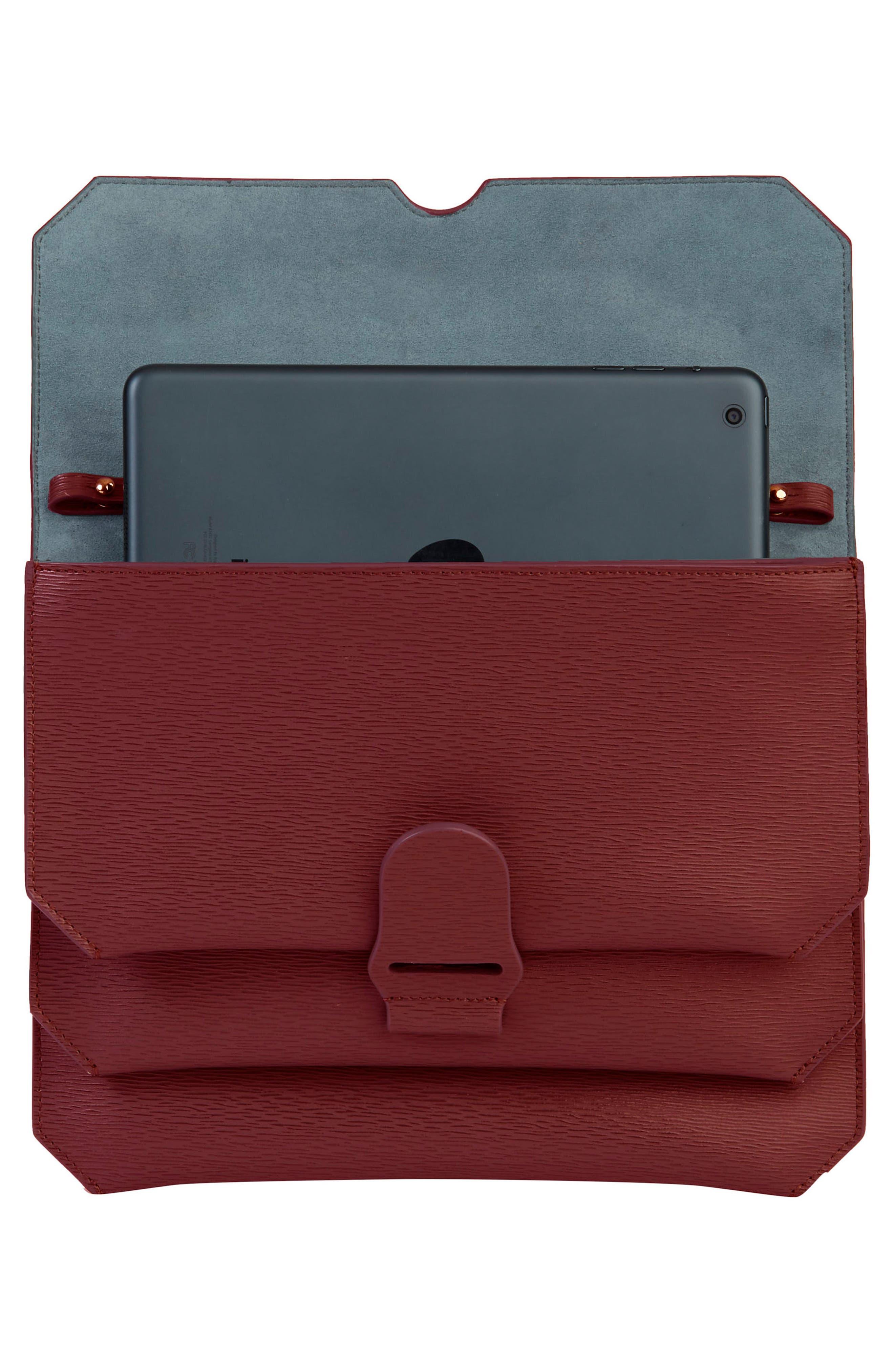 Alternate Image 3  - Senreve Mimosa Textured Leather Crossbody Bag