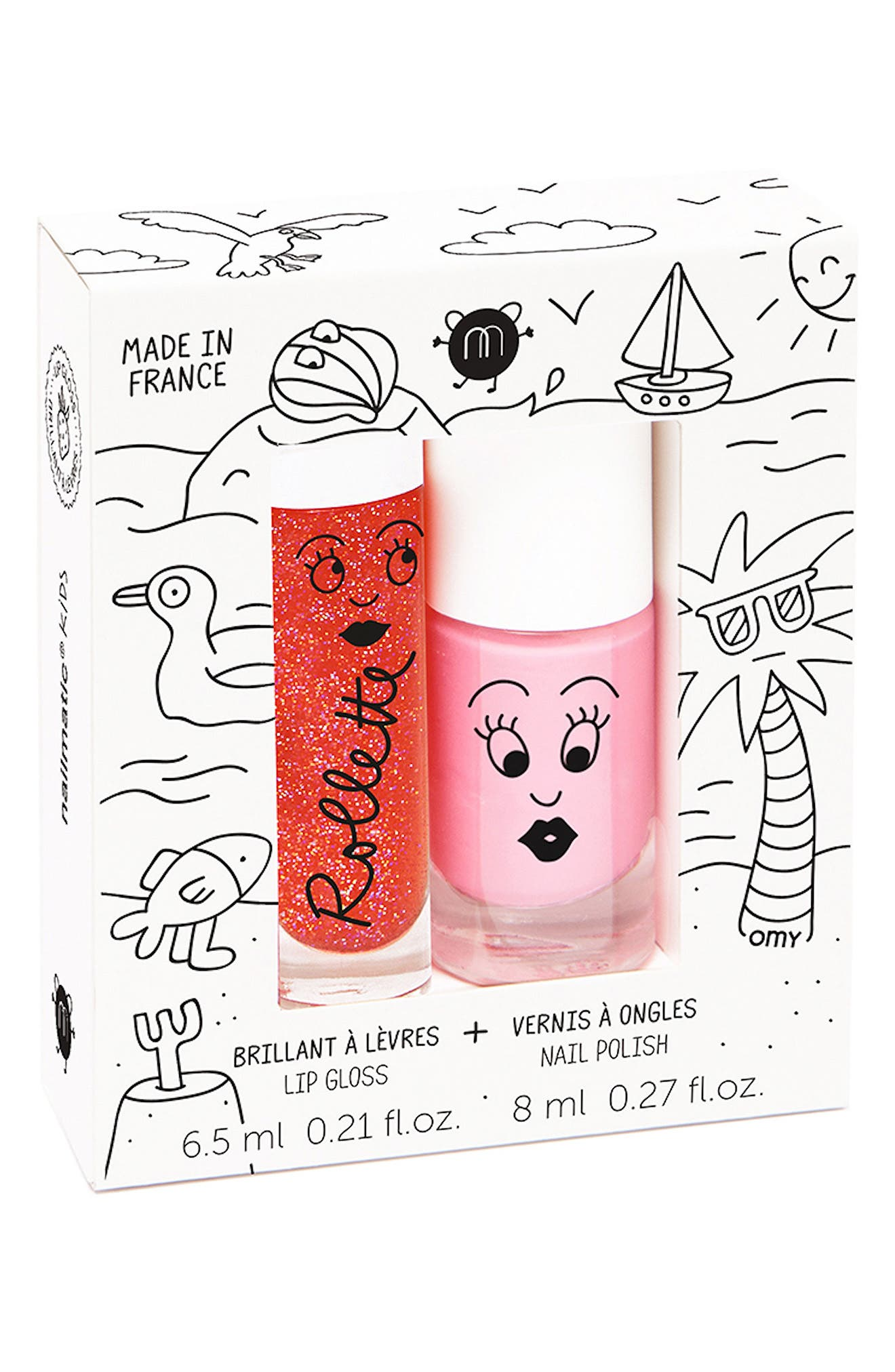 Nailmatic Water-Based Nail Polish Set (Girls)
