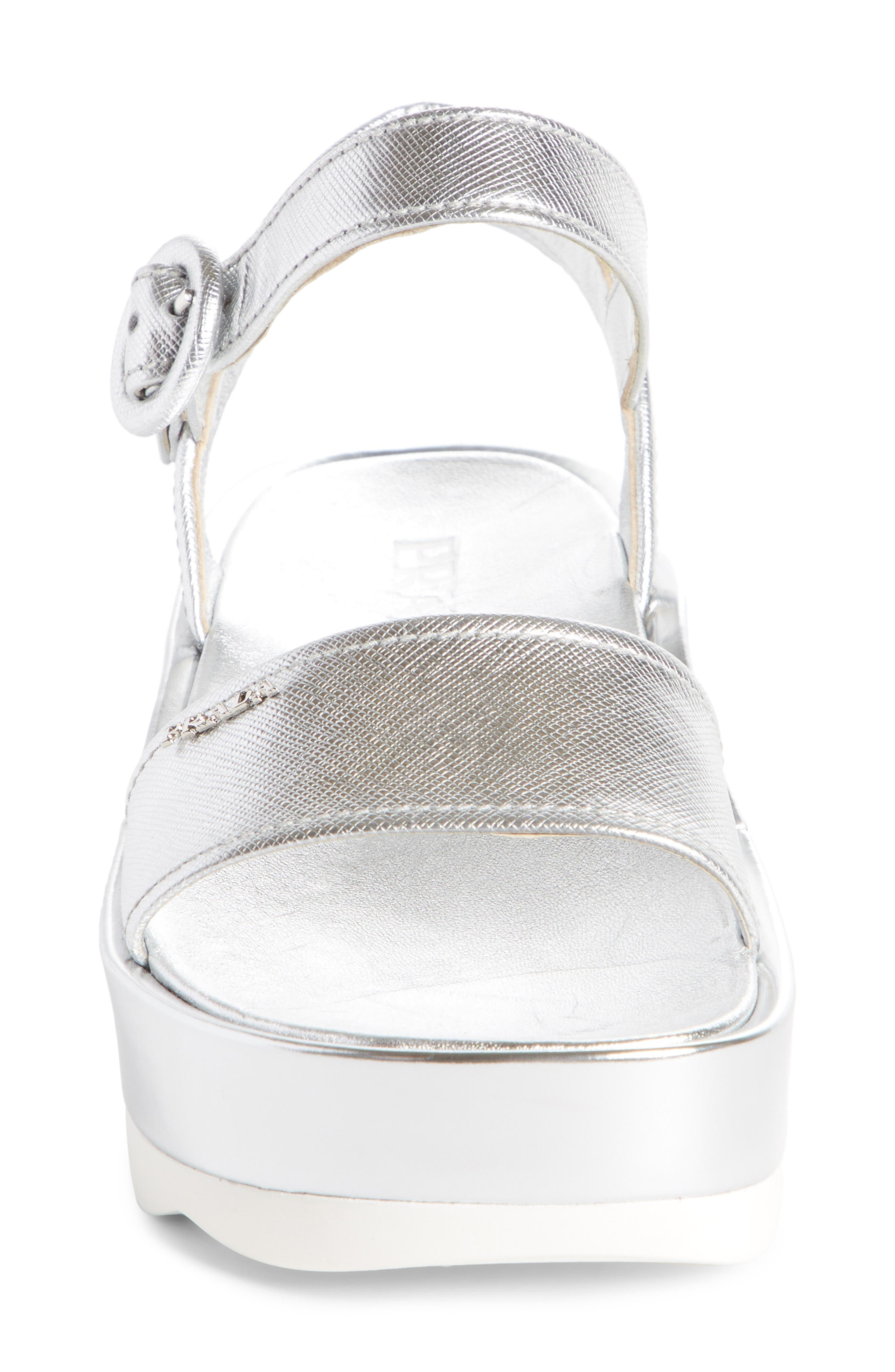 Alternate Image 3  - Prada Ankle Strap Platform Sandal (Women)
