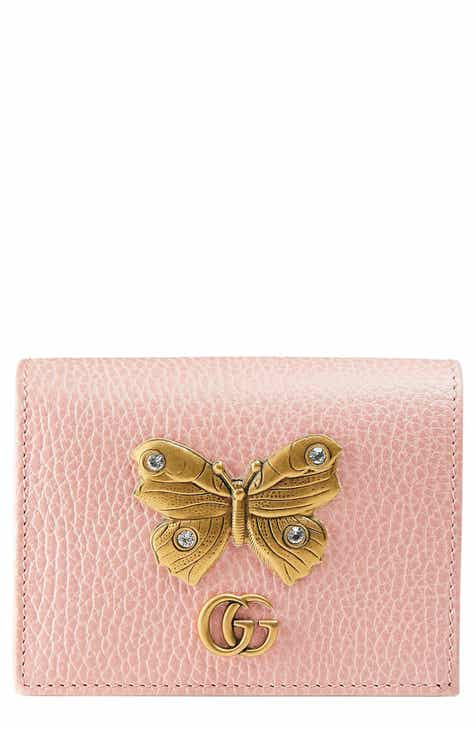bbb0b8e9c3d Gucci Farfalla Leather Card Case