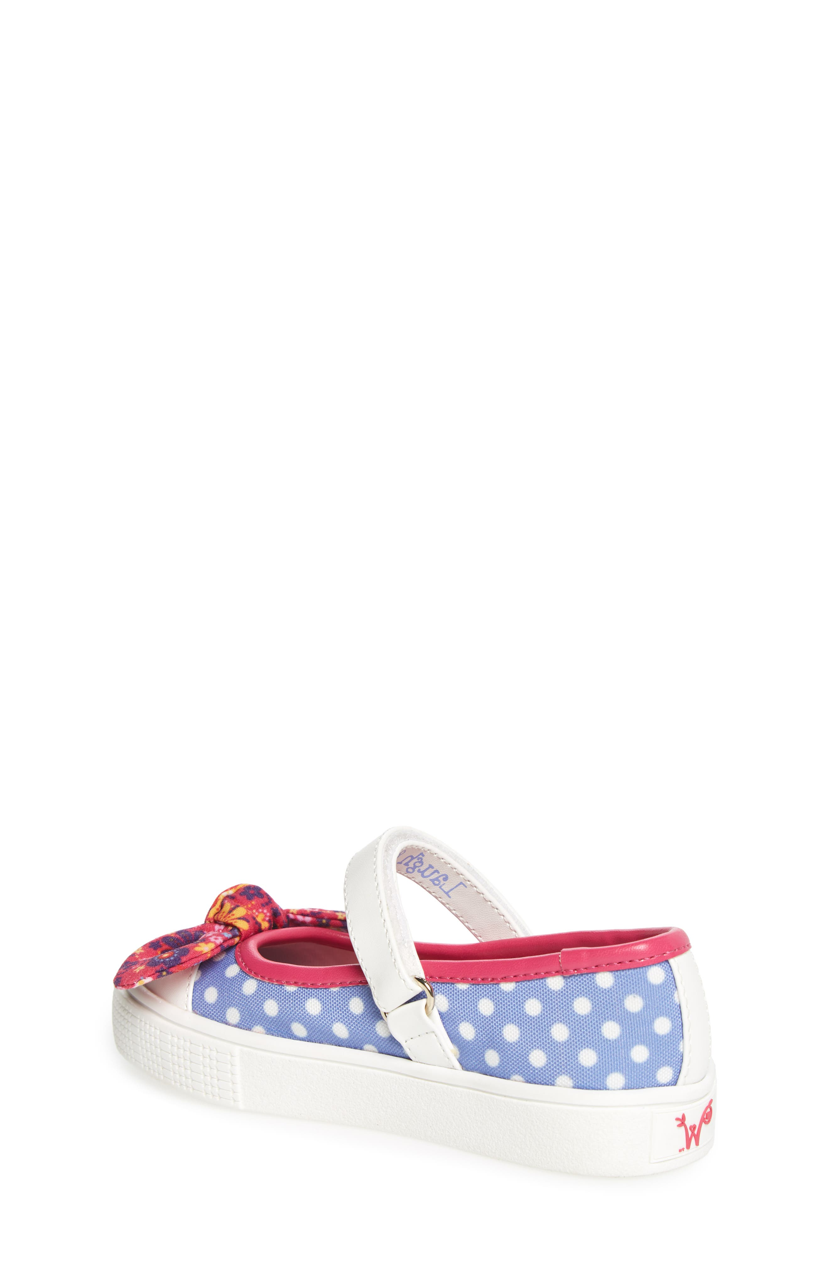 Alternate Image 2  - WellieWishers from American Girl Kendall Mary Jane Sneaker (Walker, Toddler, Little Kid & Big Kid)